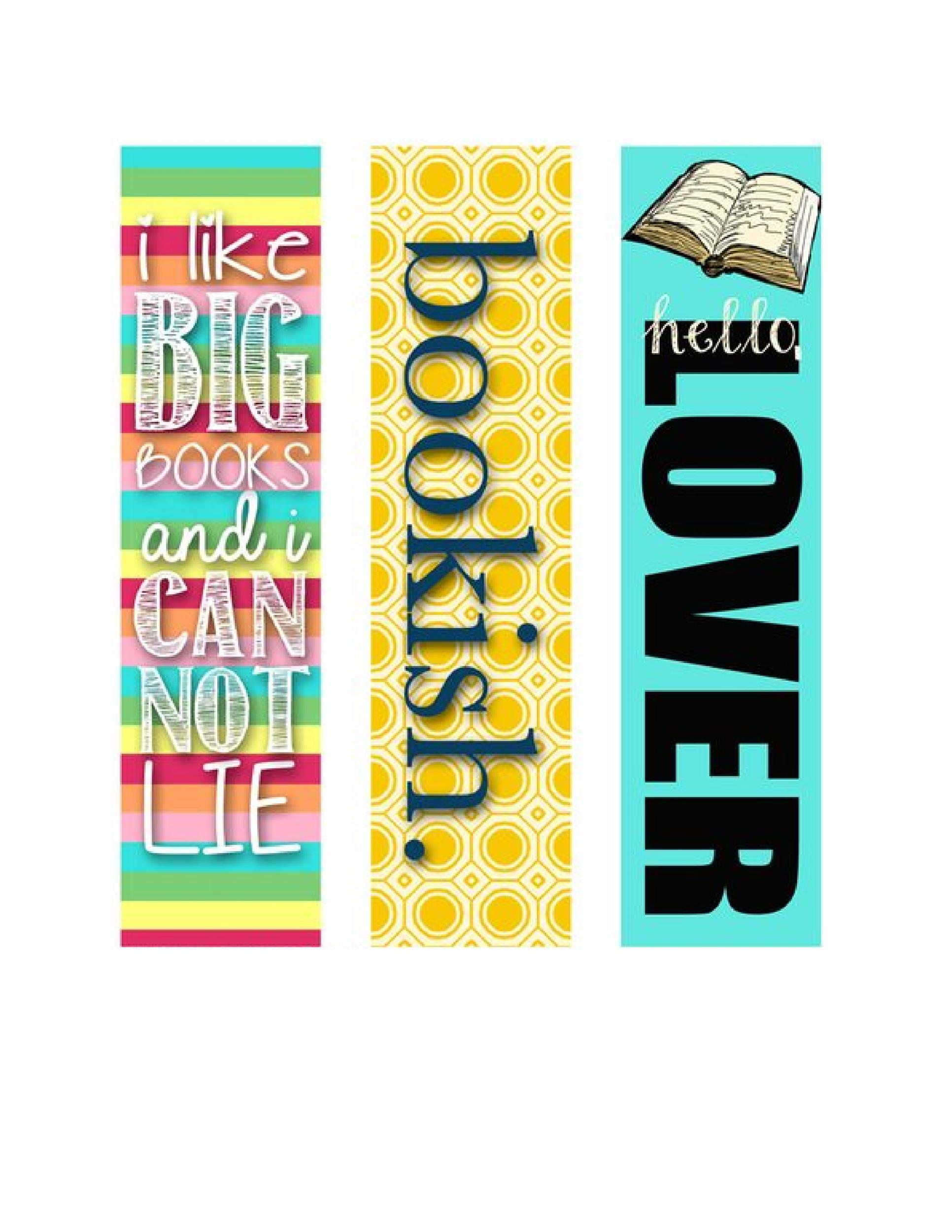 picture regarding Free Printable Bookmarks to Color Pdf known as 50 Absolutely free Printable Bookmark Templates ᐅ Template Lab