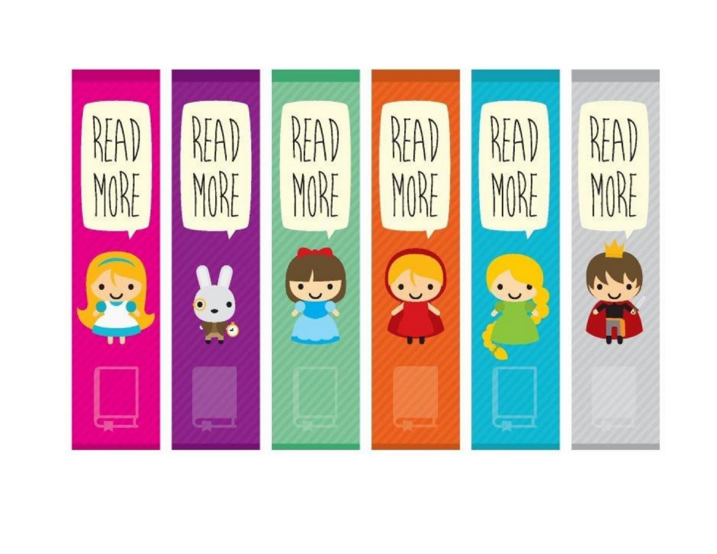 printable bookmark template 22