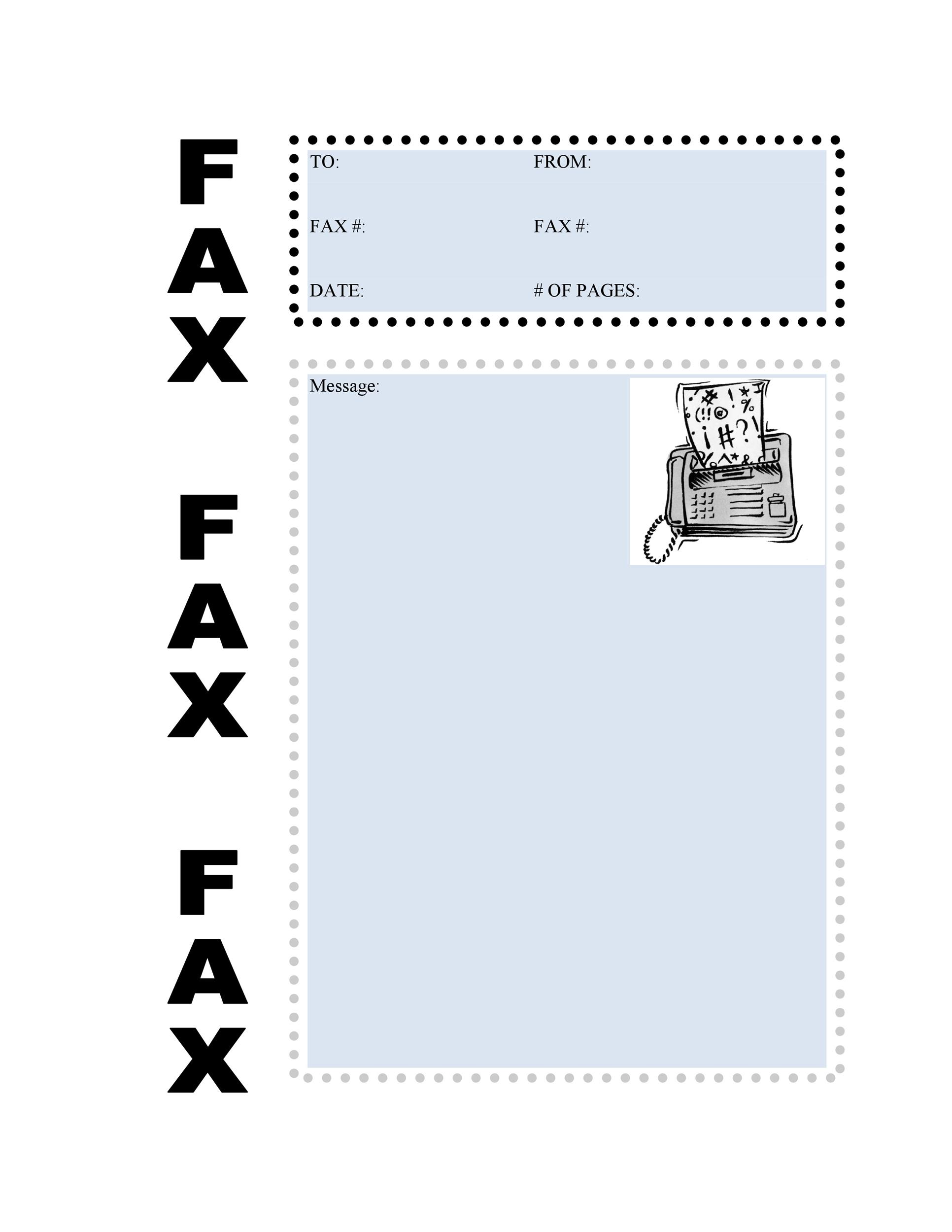 Fax Cover Sheet Template 18