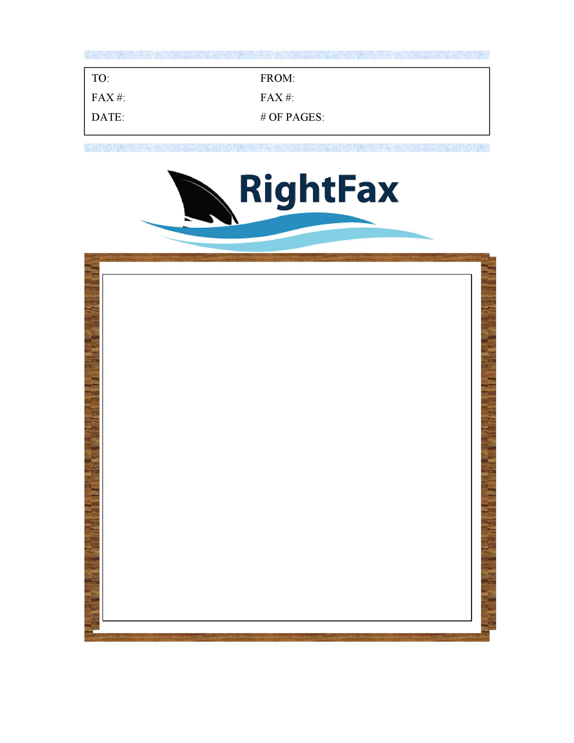 Fax Cover Sheet Template 31