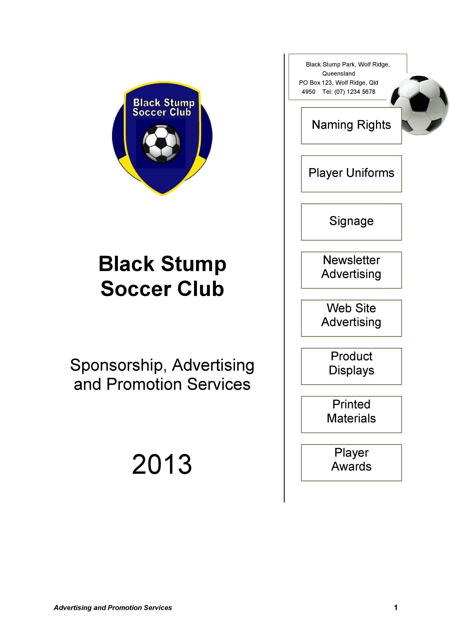 Sponsorship Letter Template 37