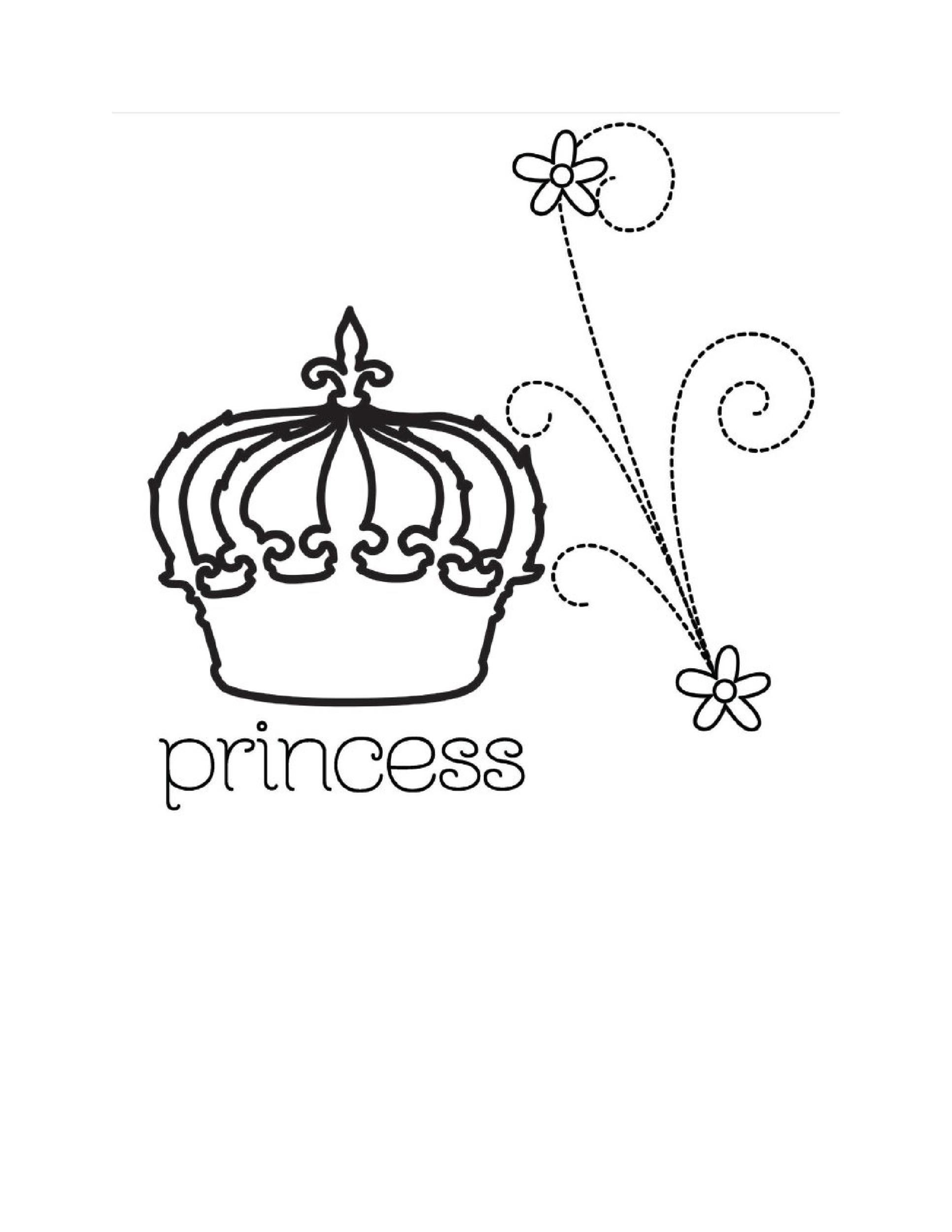 Free Crown template 01