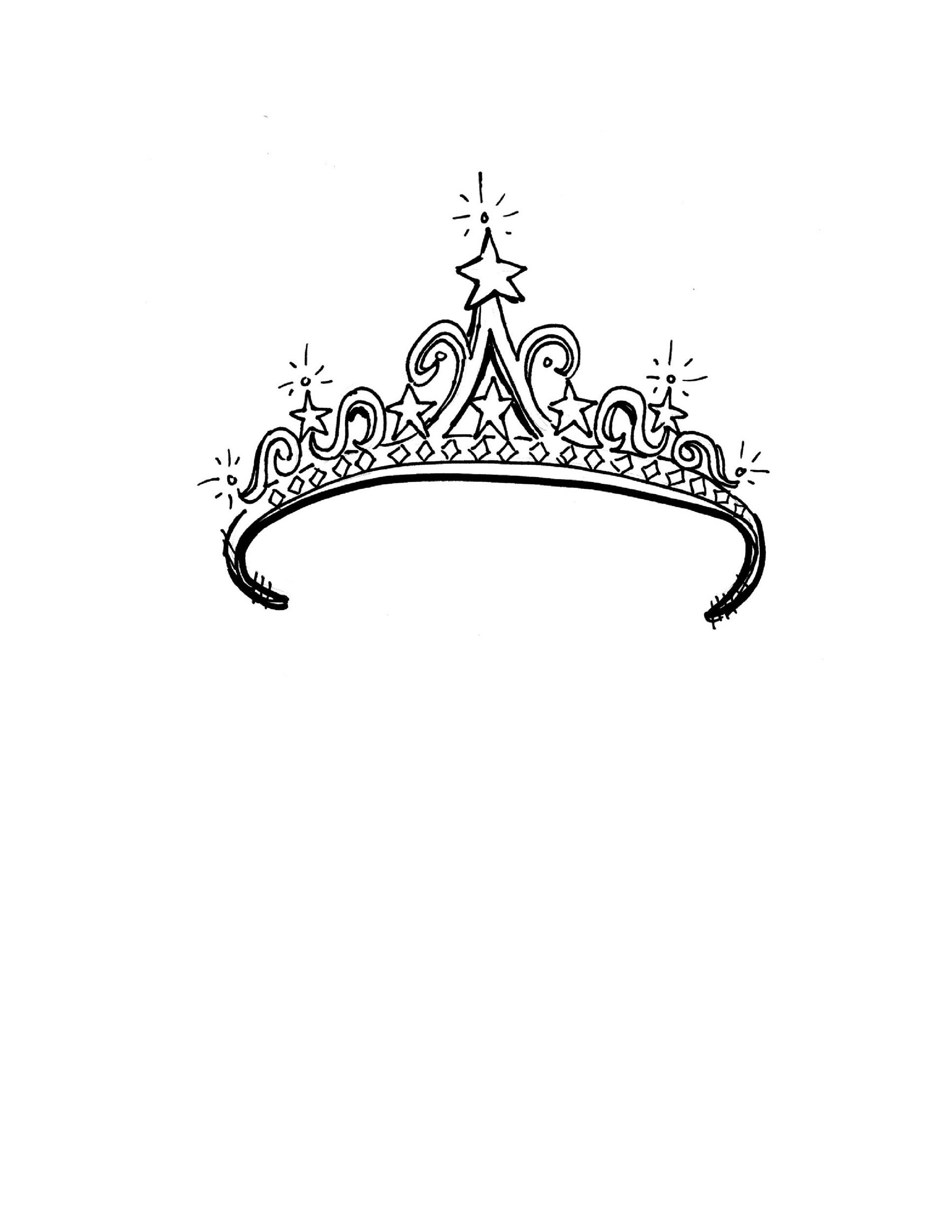 Free Crown Template 04