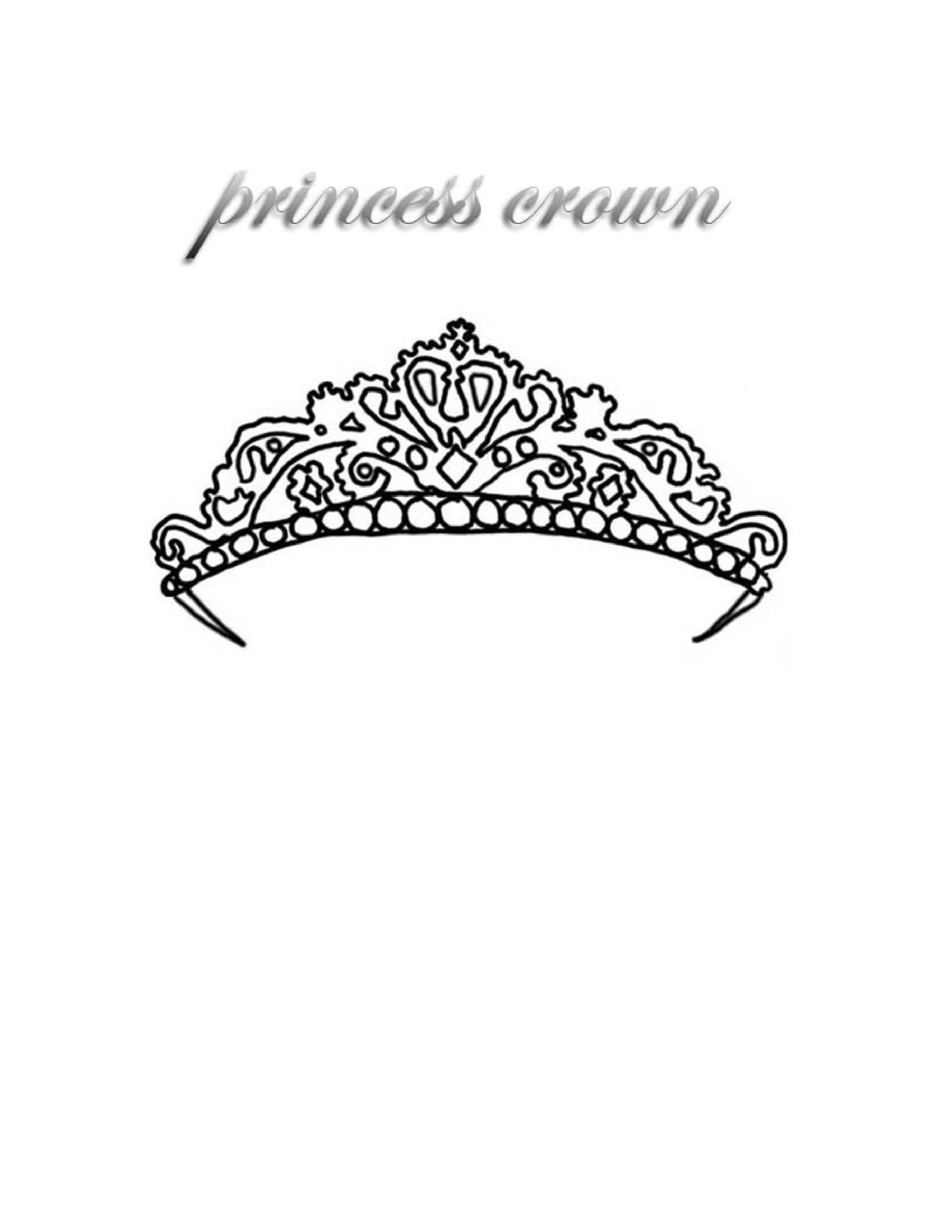 Free Crown Template 05