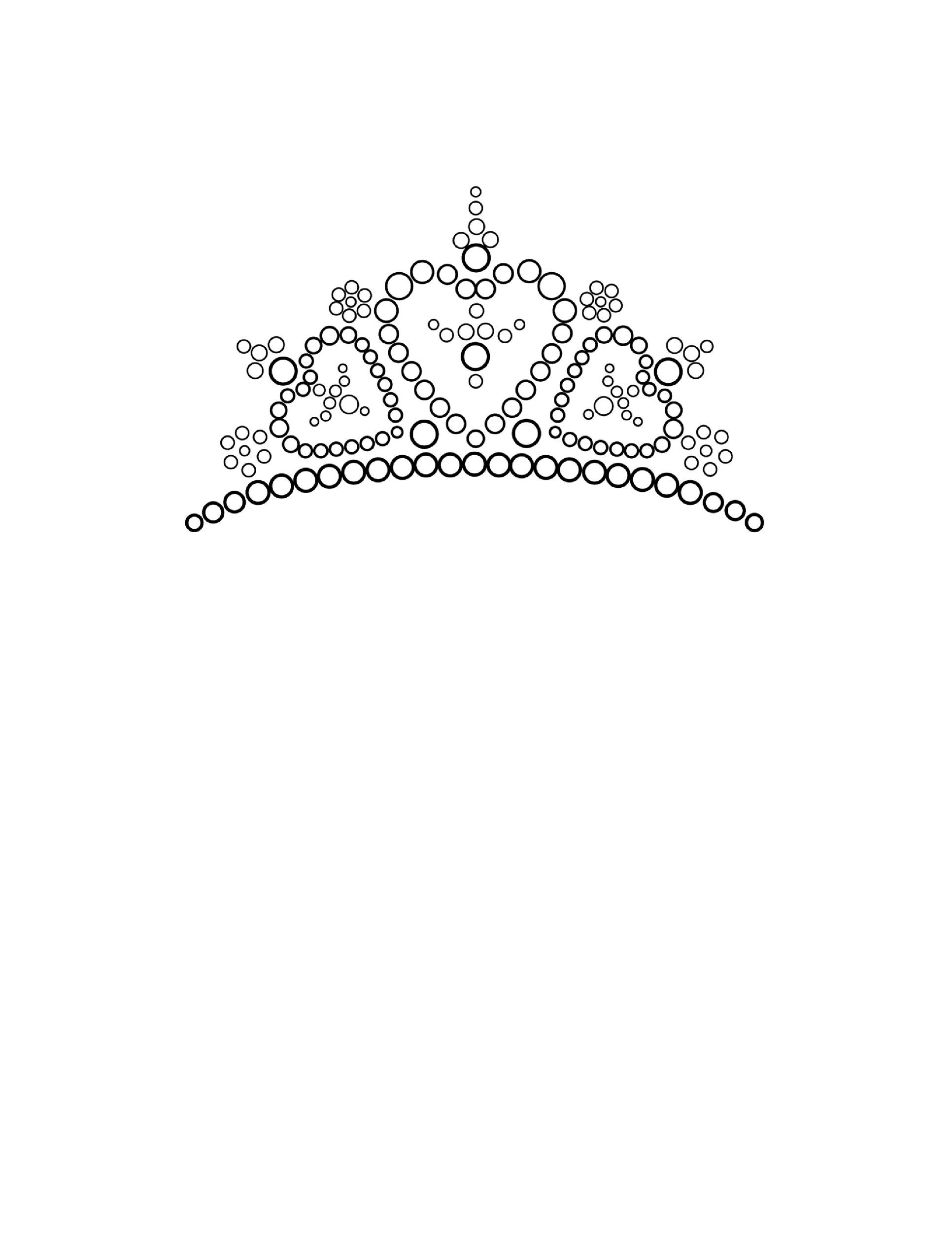 Free Crown Template 06
