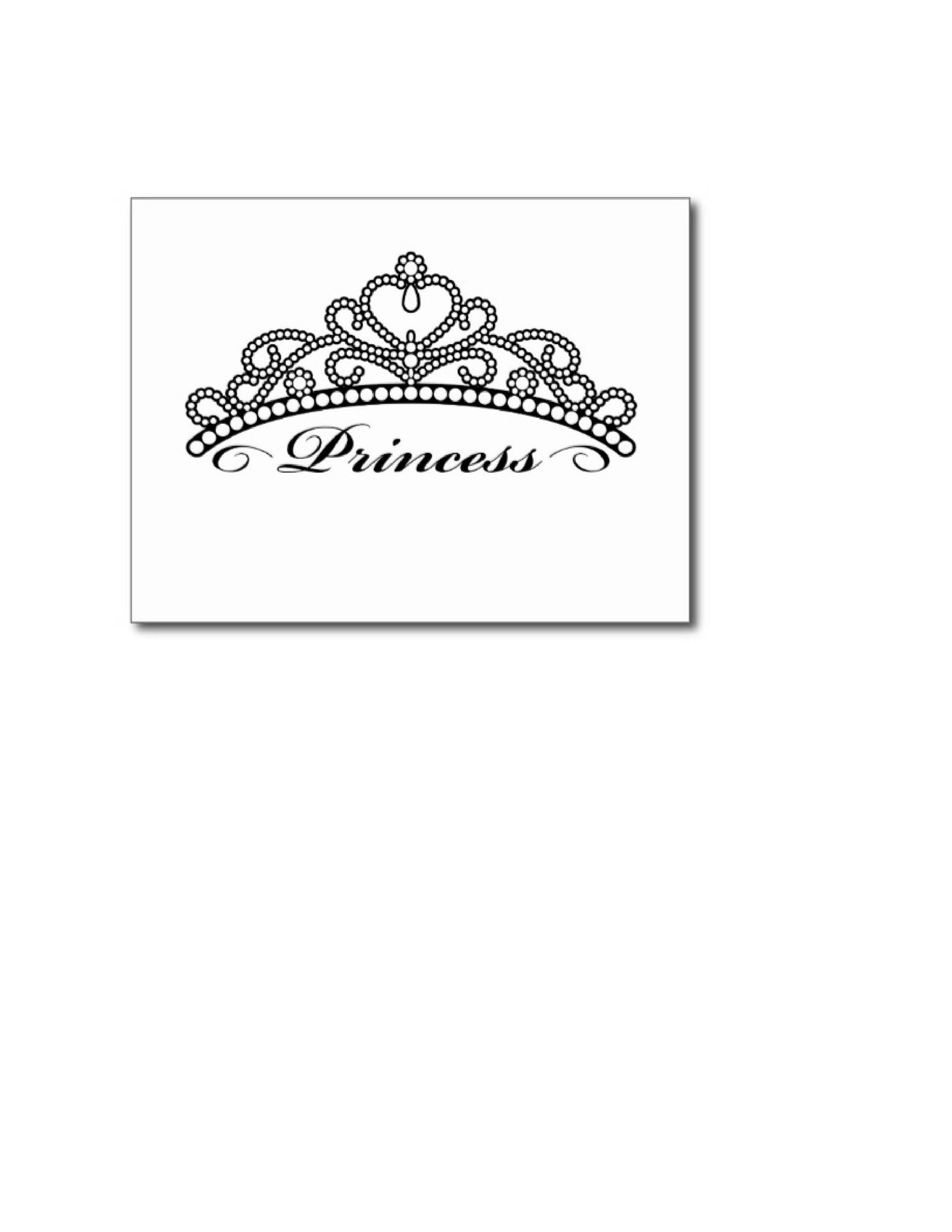 Free Crown Template 07