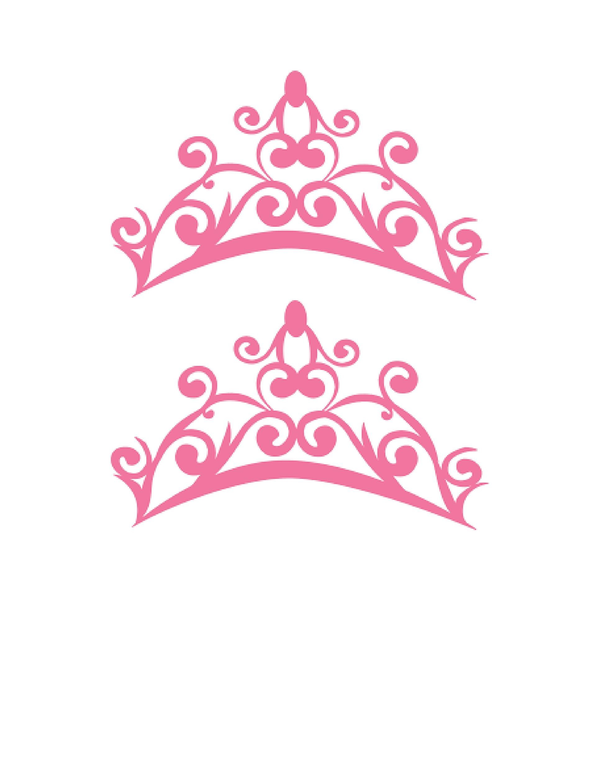 Free Crown Template 08