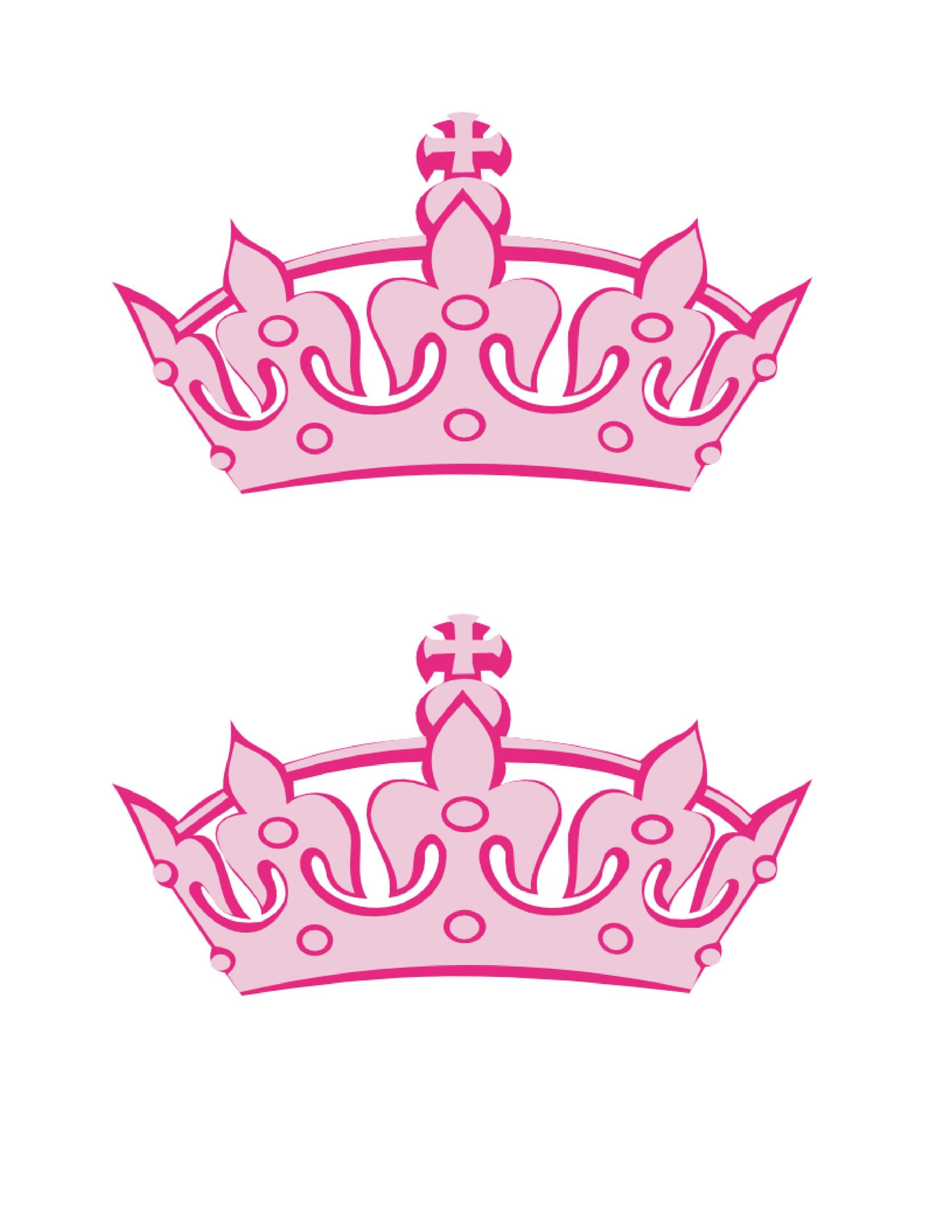 Free Crown Template 09