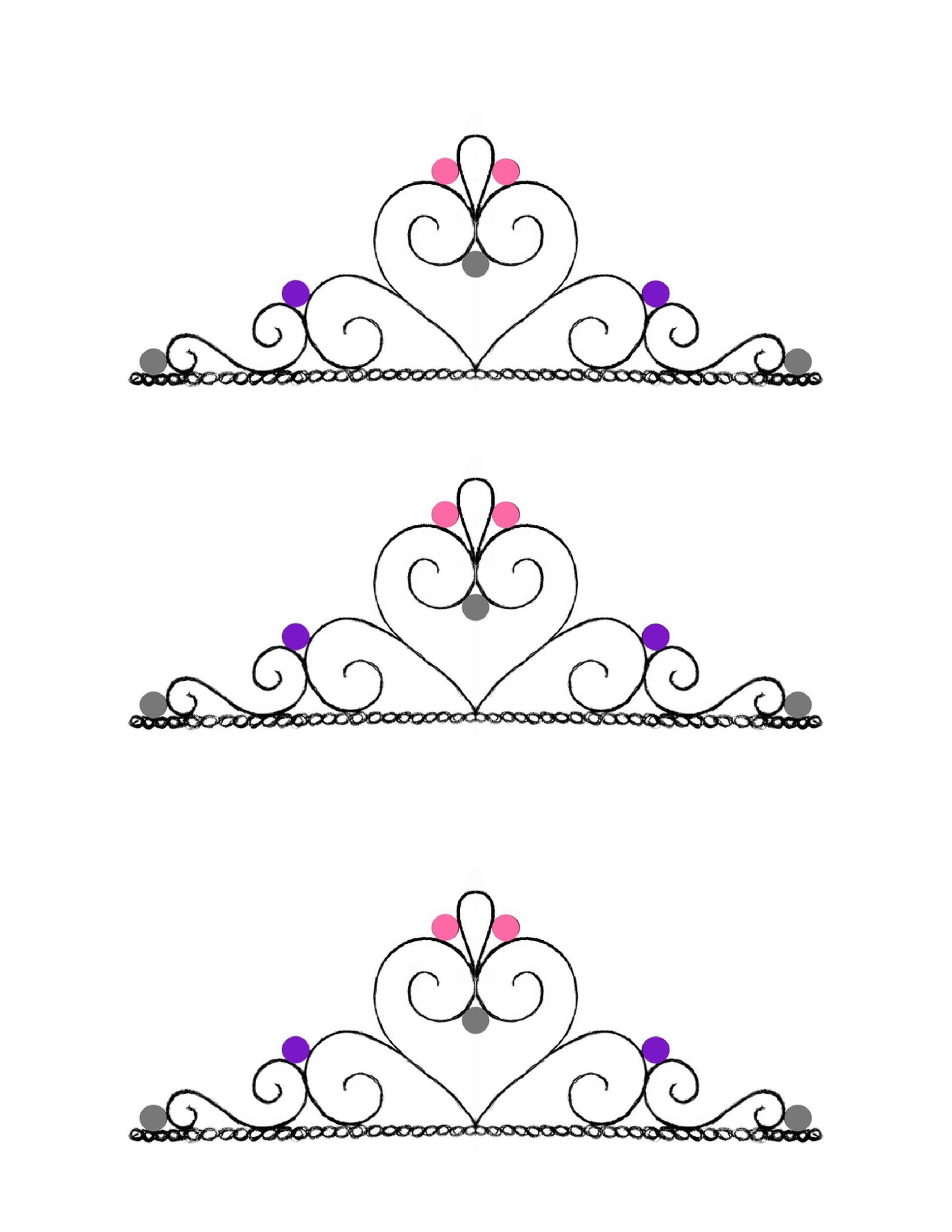 Free Crown Template 12