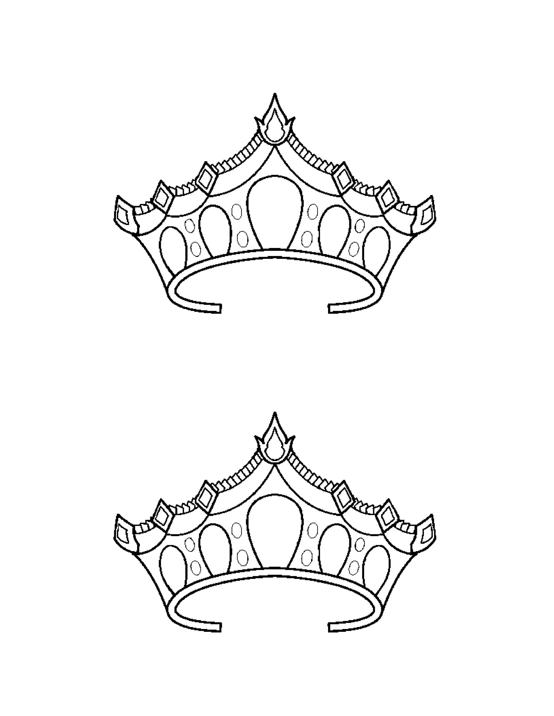 Free Crown Template 14