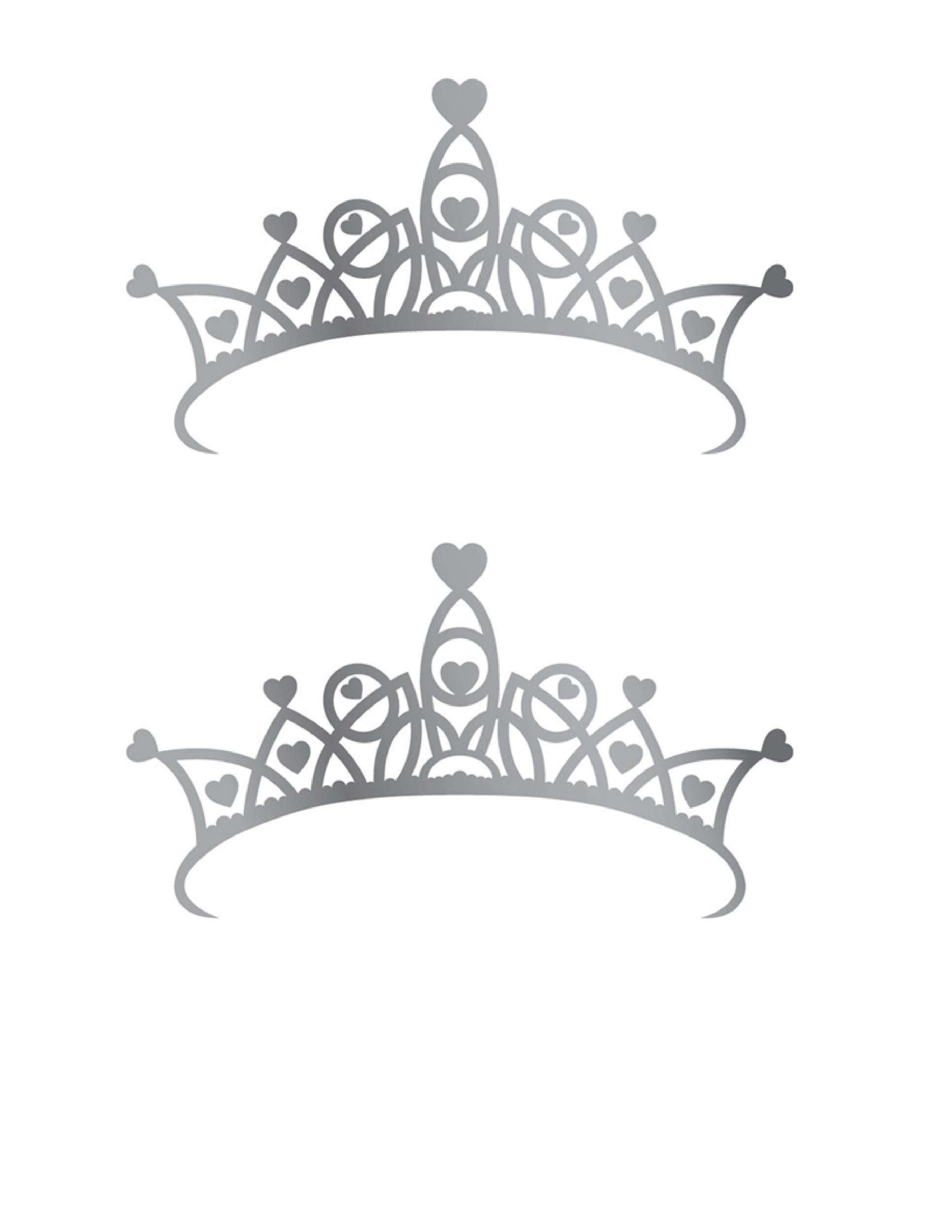 Free Crown Template 16