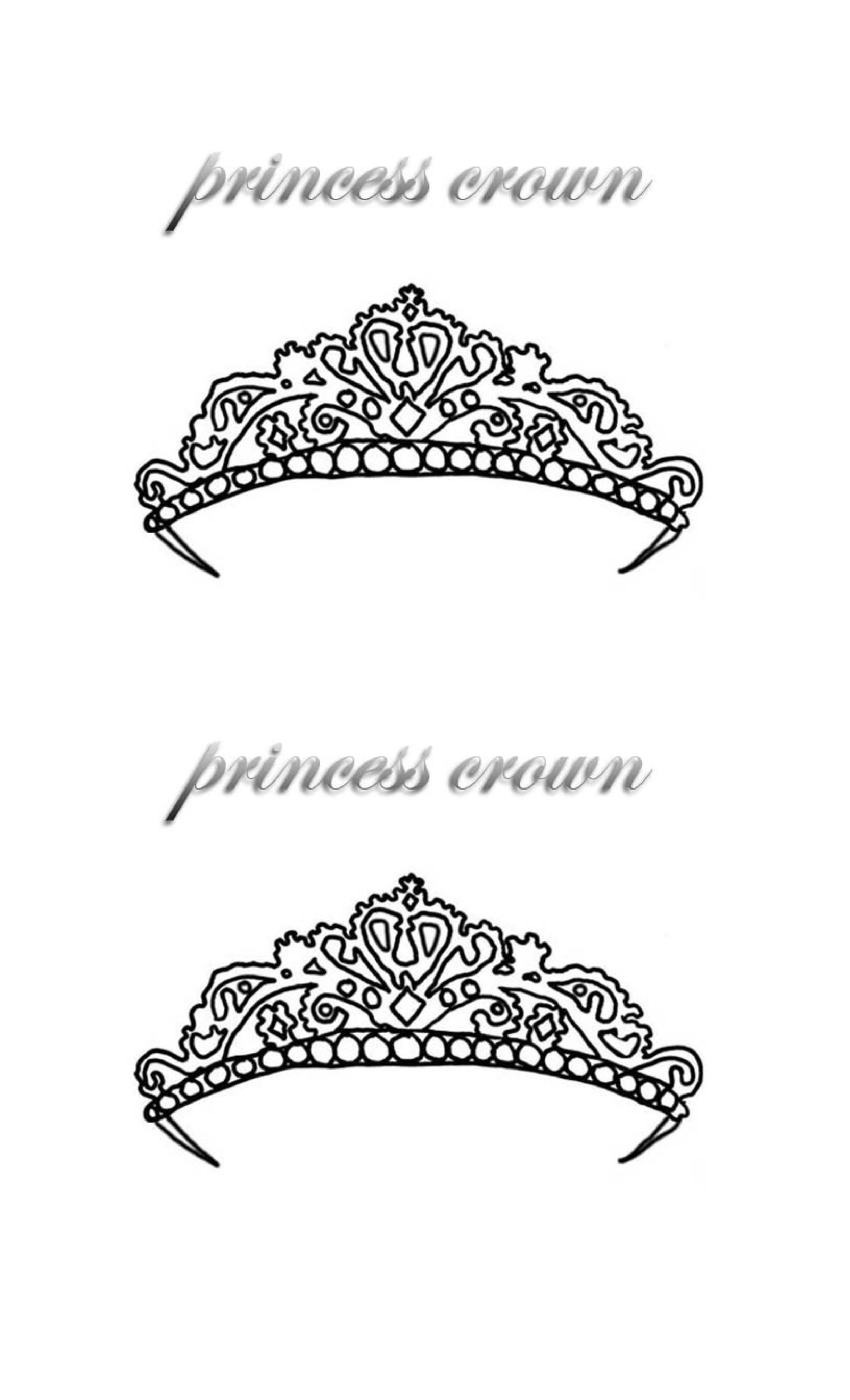 Free Crown Template 17