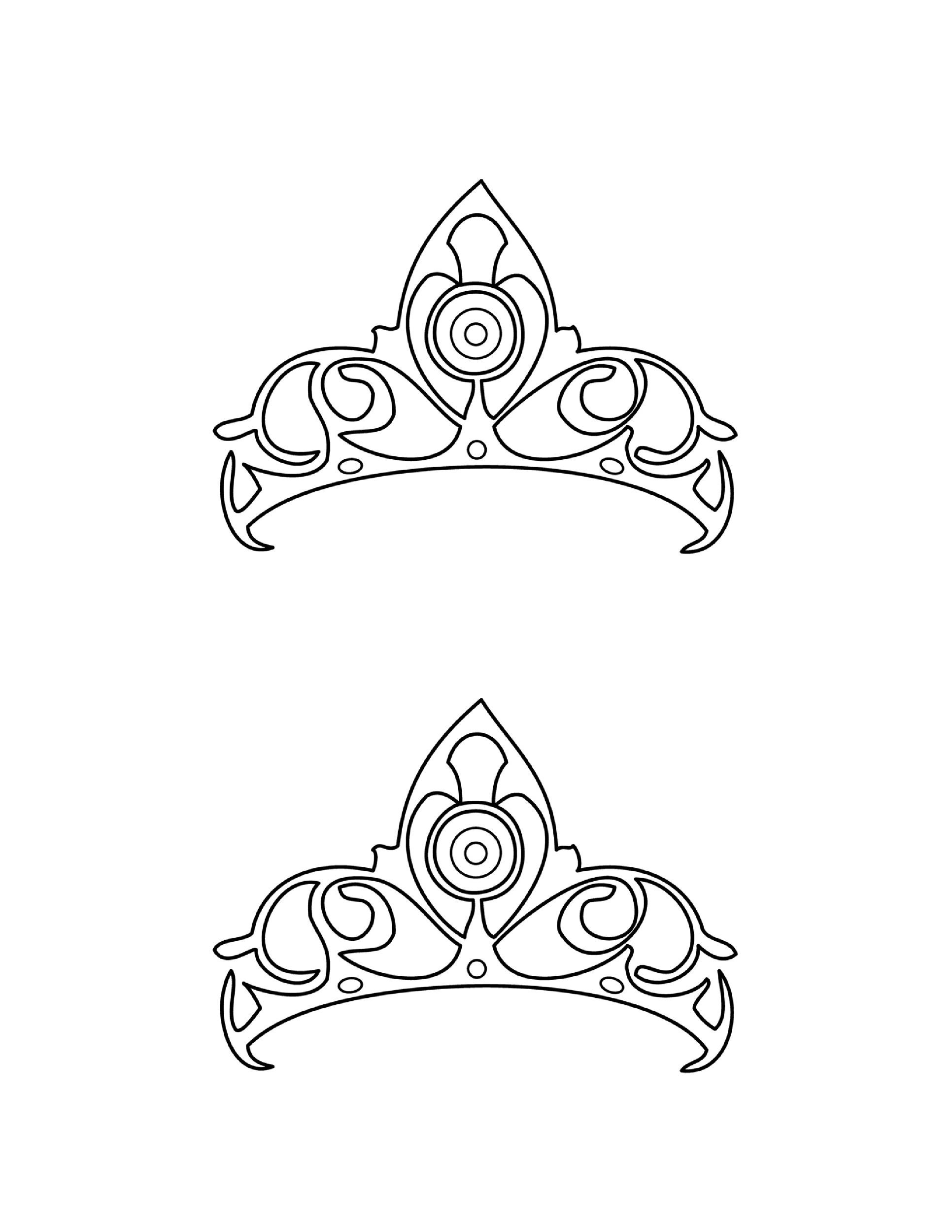 Free Crown Template 18