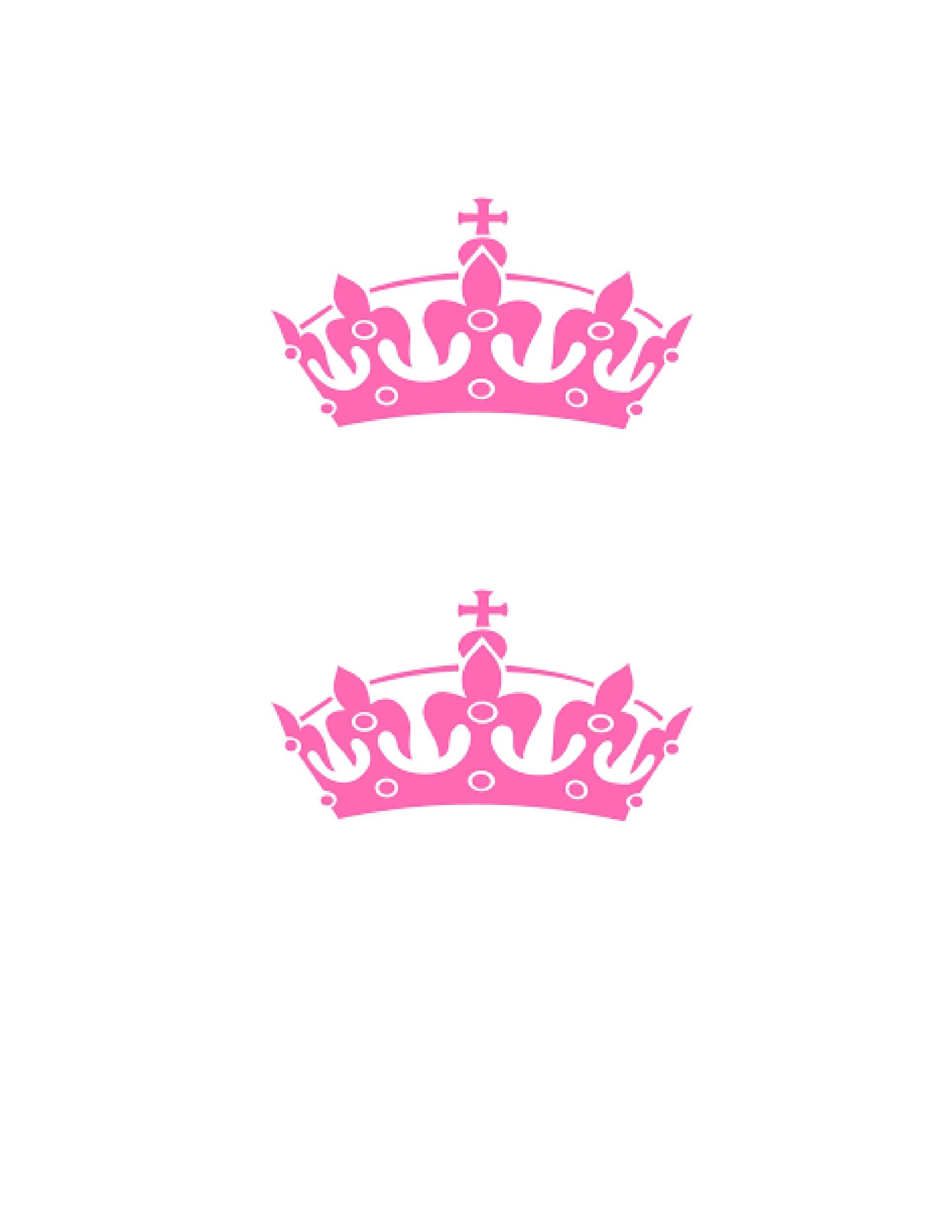Free Crown Template 19