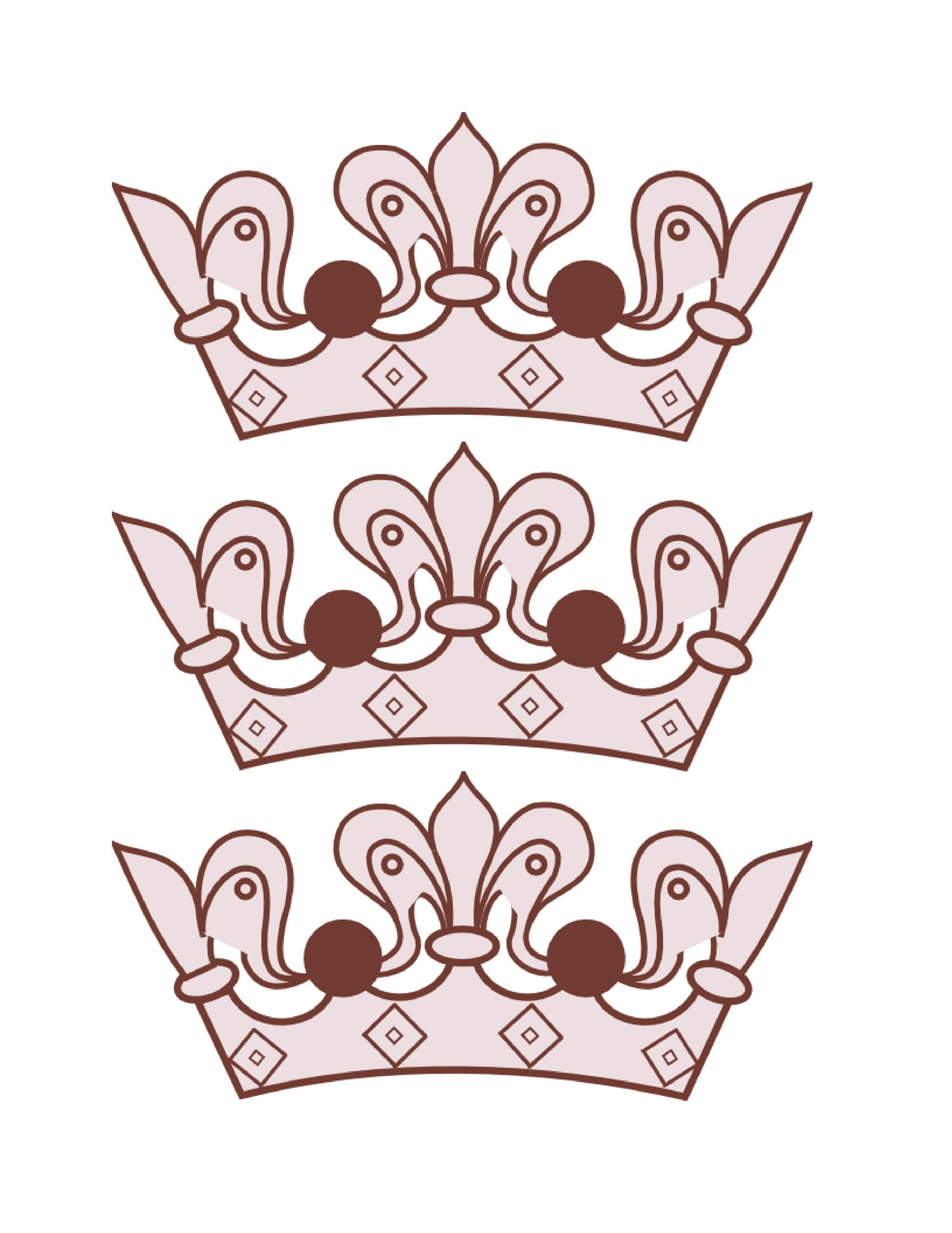 Free Crown Template 20