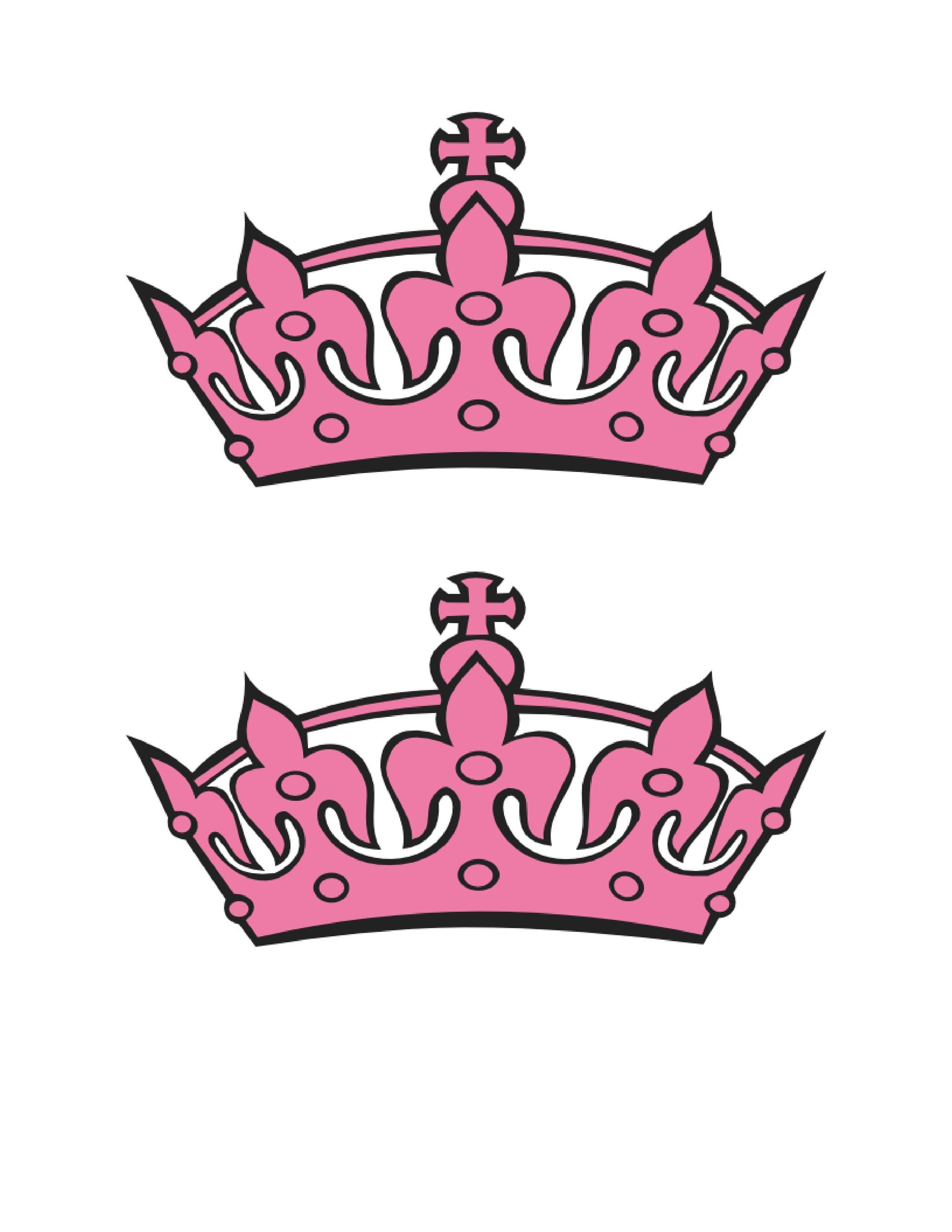 Free Crown Template 21