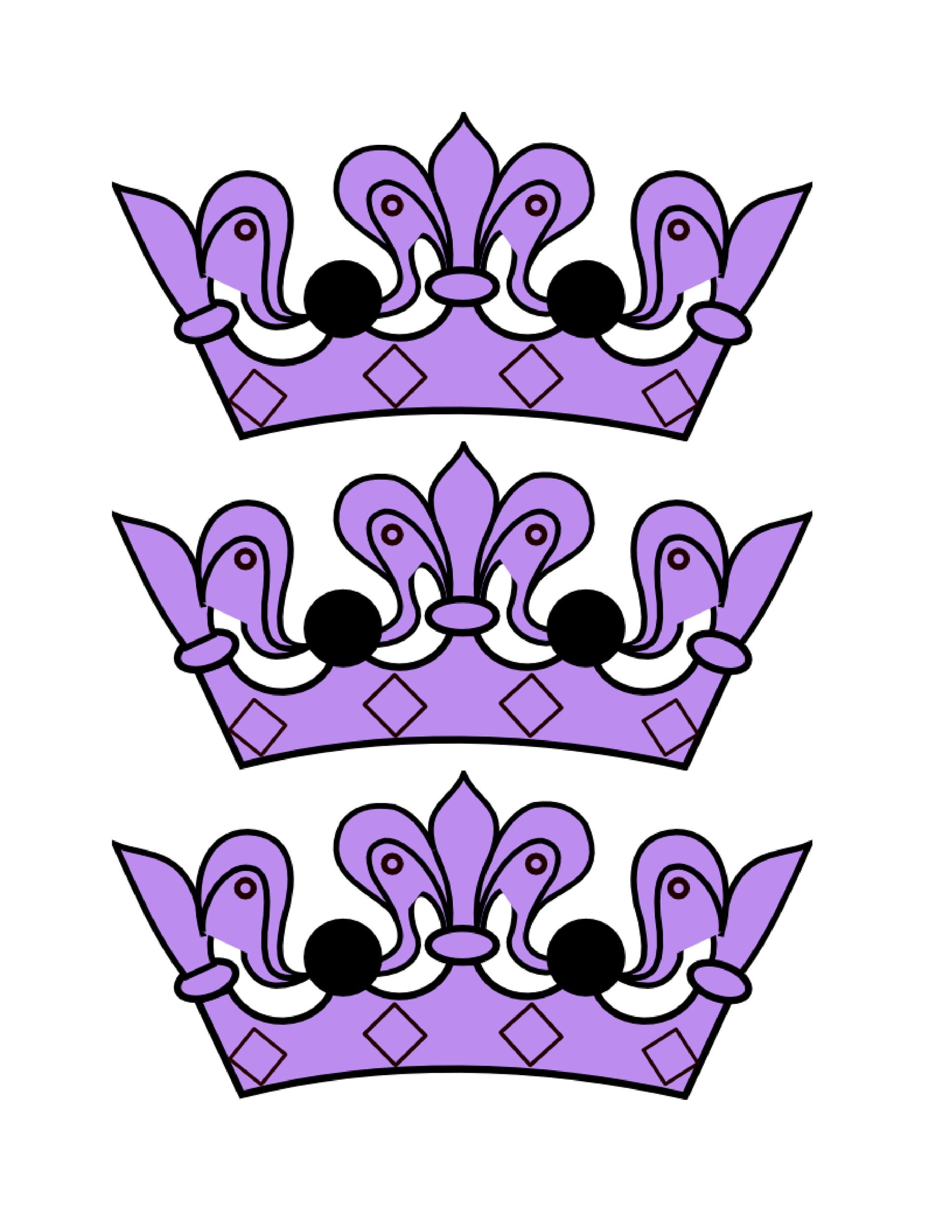 Free Crown Template 22