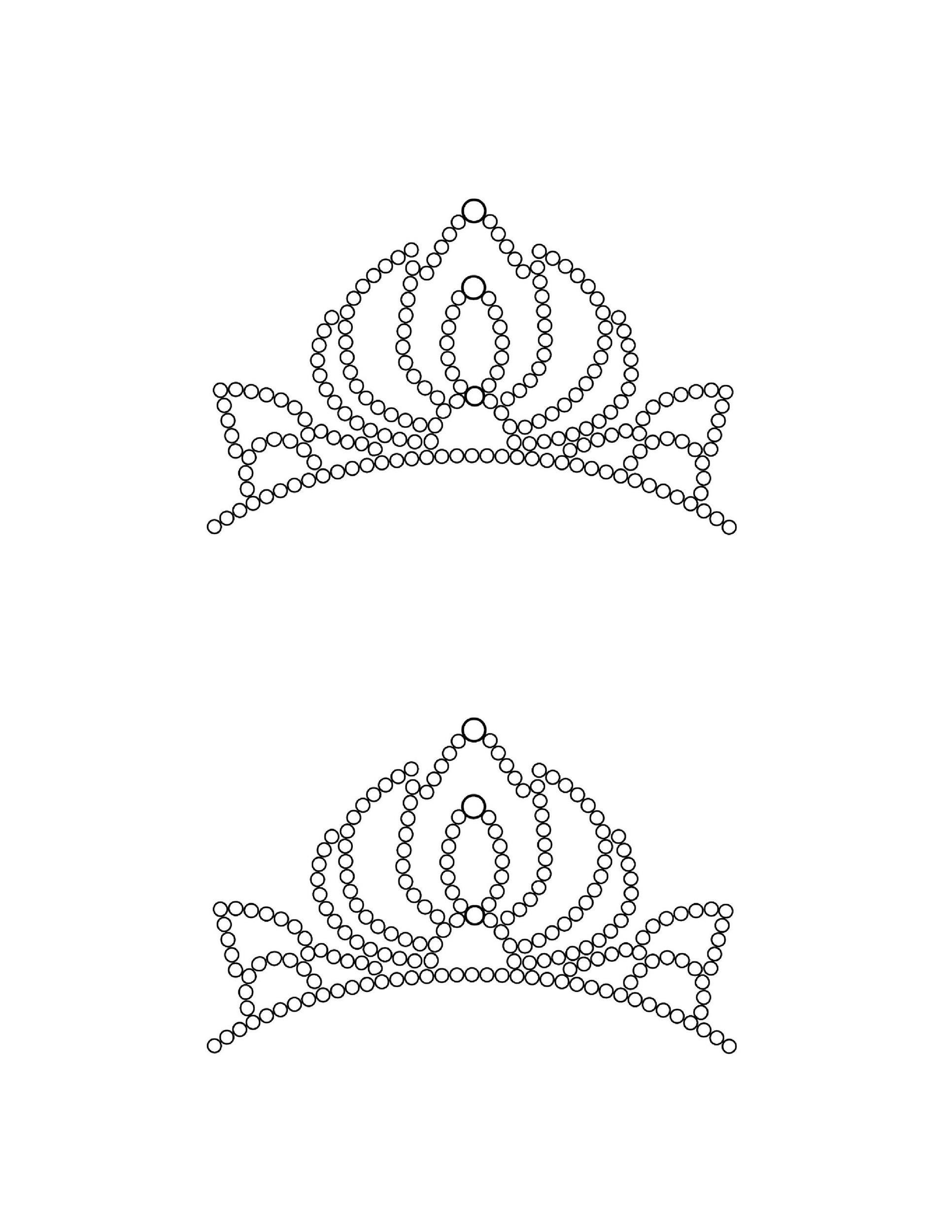 Free Crown Template 23