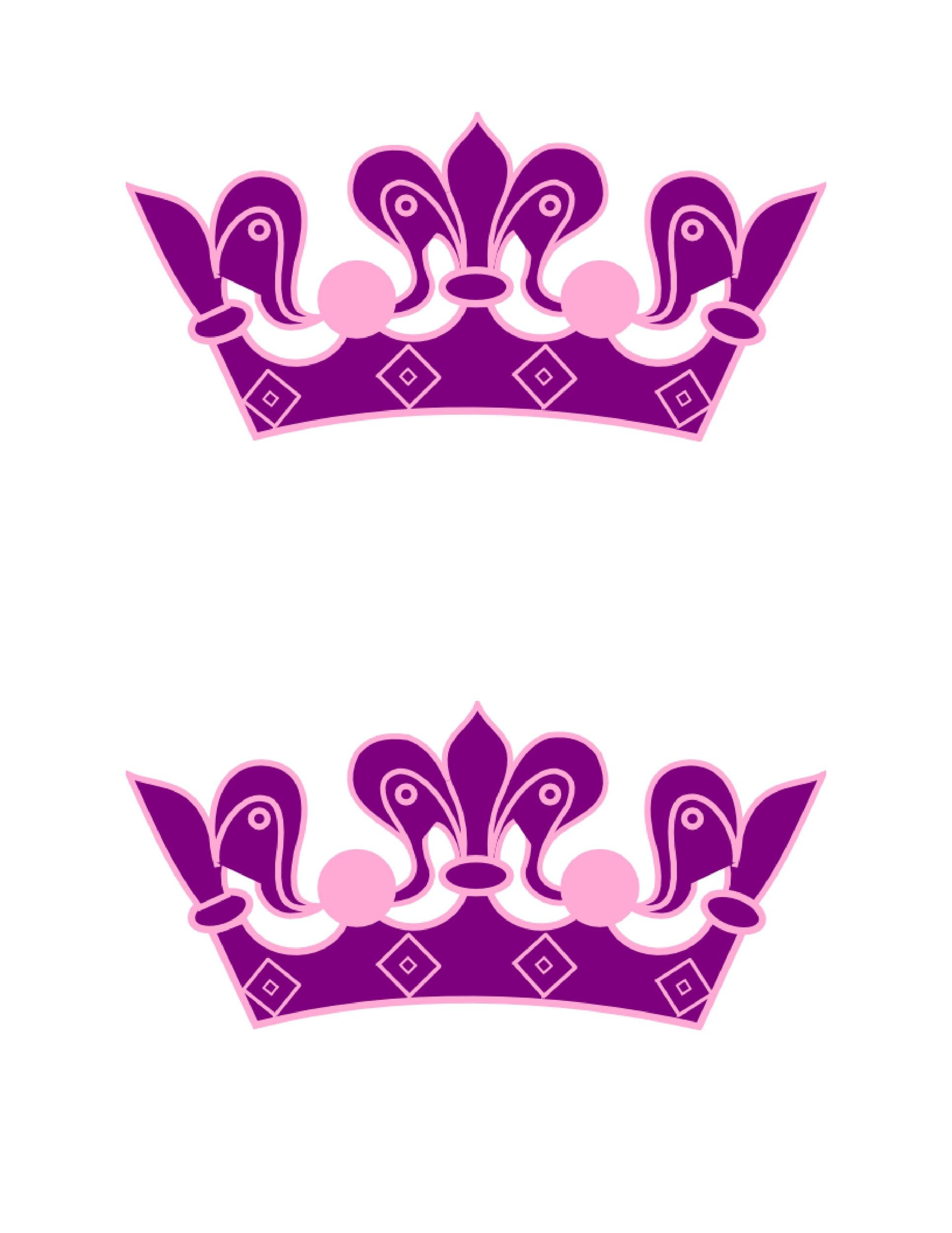 Free Crown Template 26