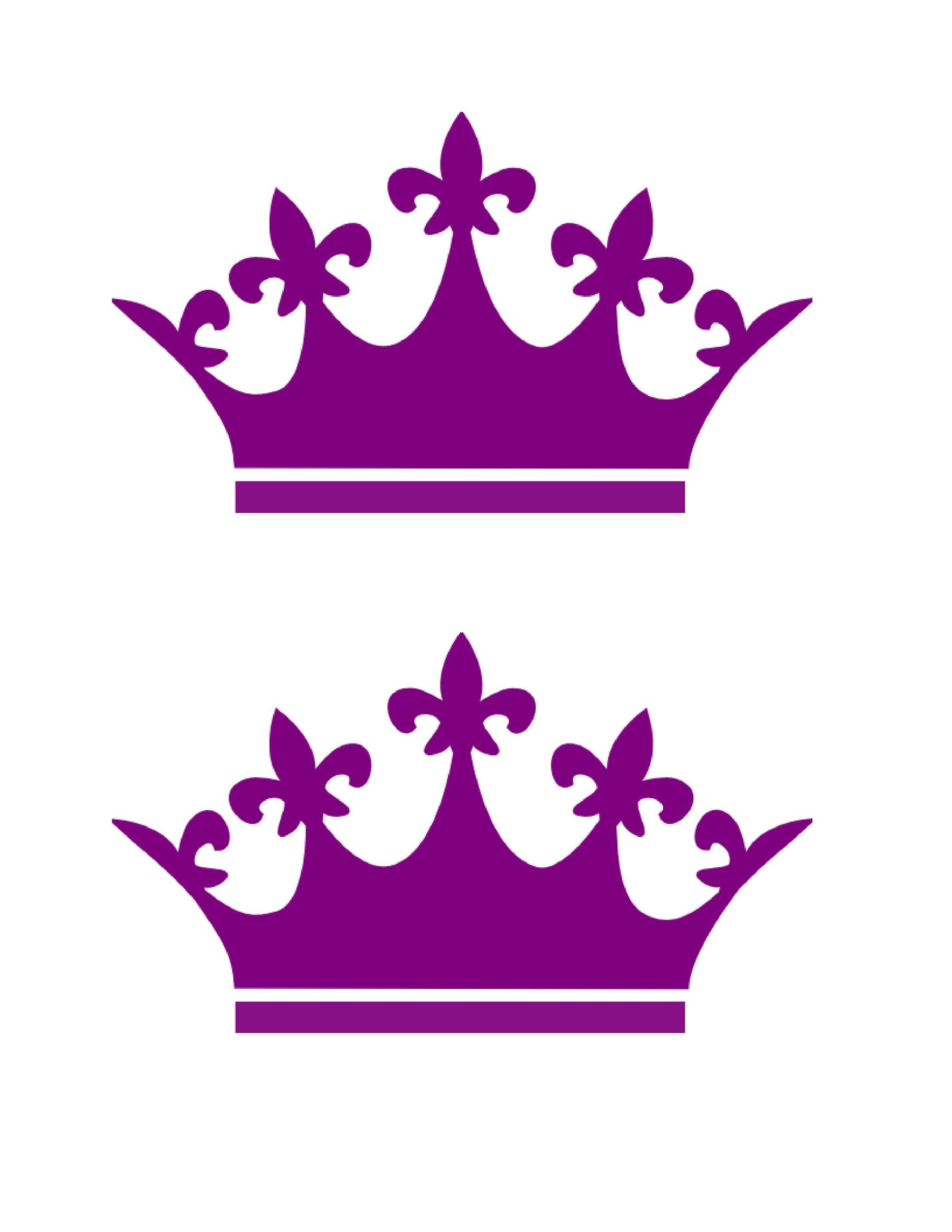 Free Crown Template 27