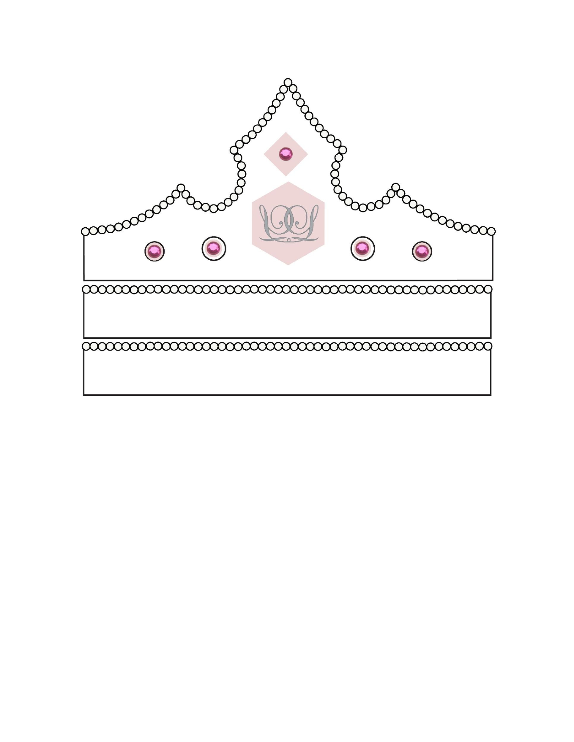 Free Crown Template 29