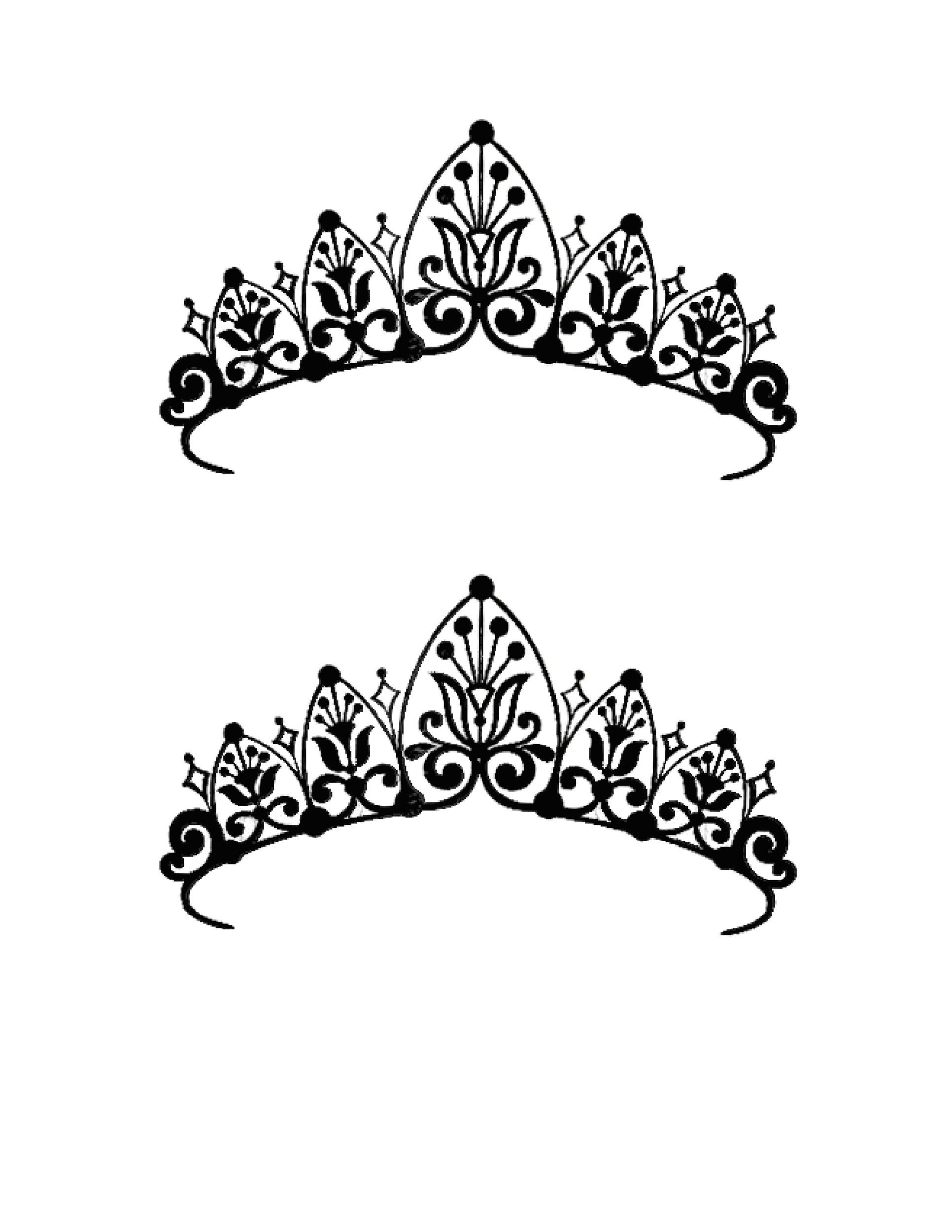 Free Crown Template 32