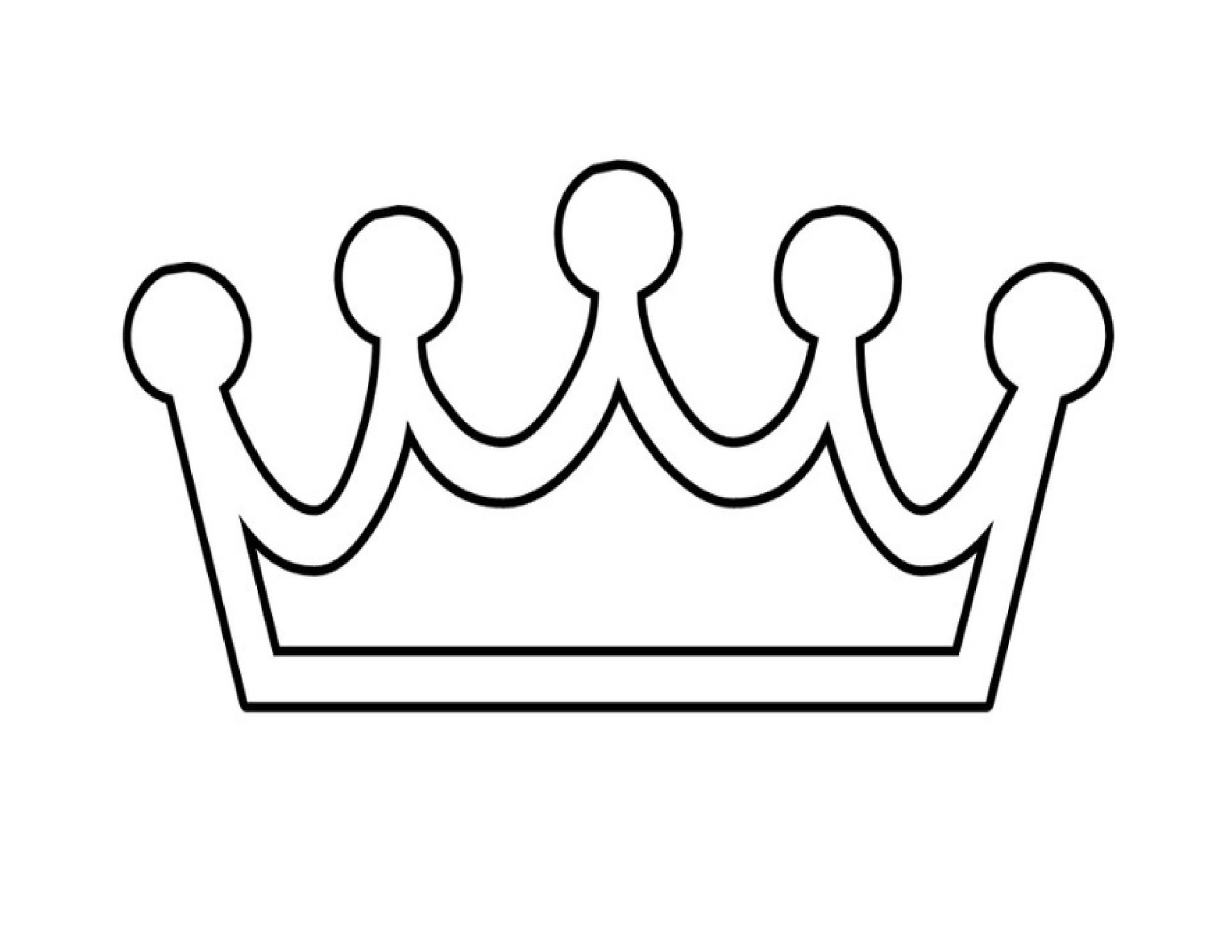 45 free paper crown templates template lab for Paper crown template for kids