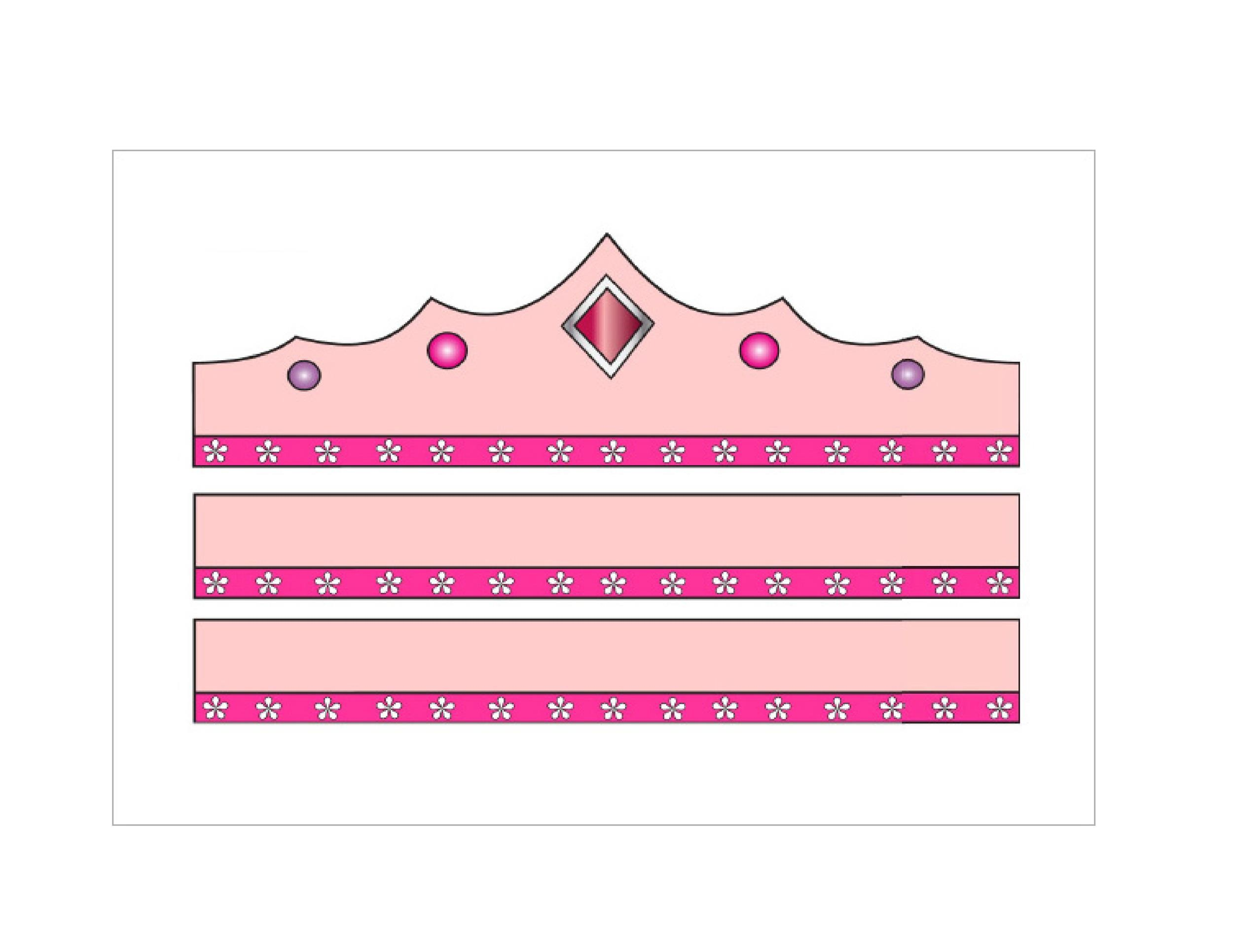 Free Crown Template 41