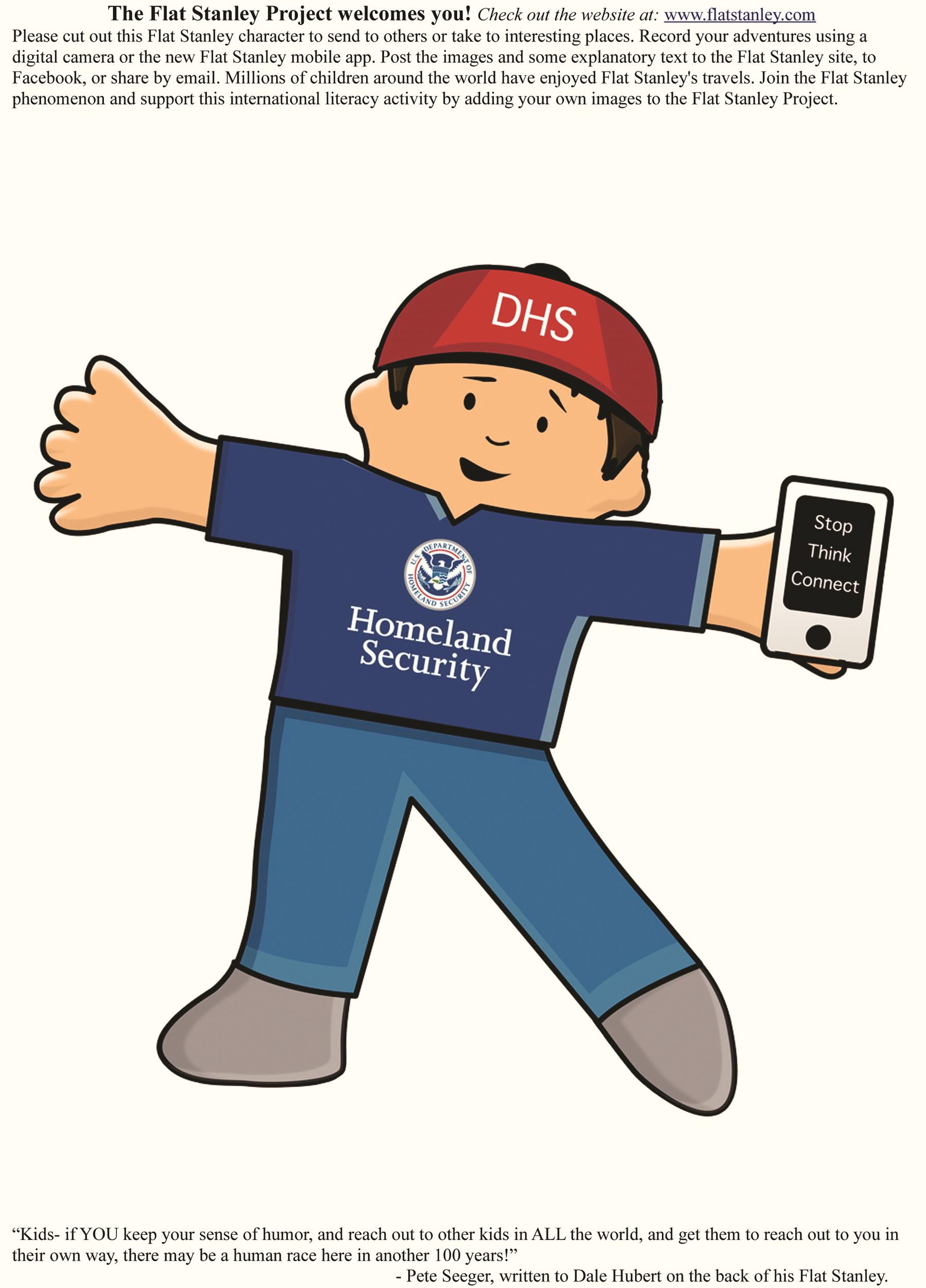 Free Flat Stanley Template 21