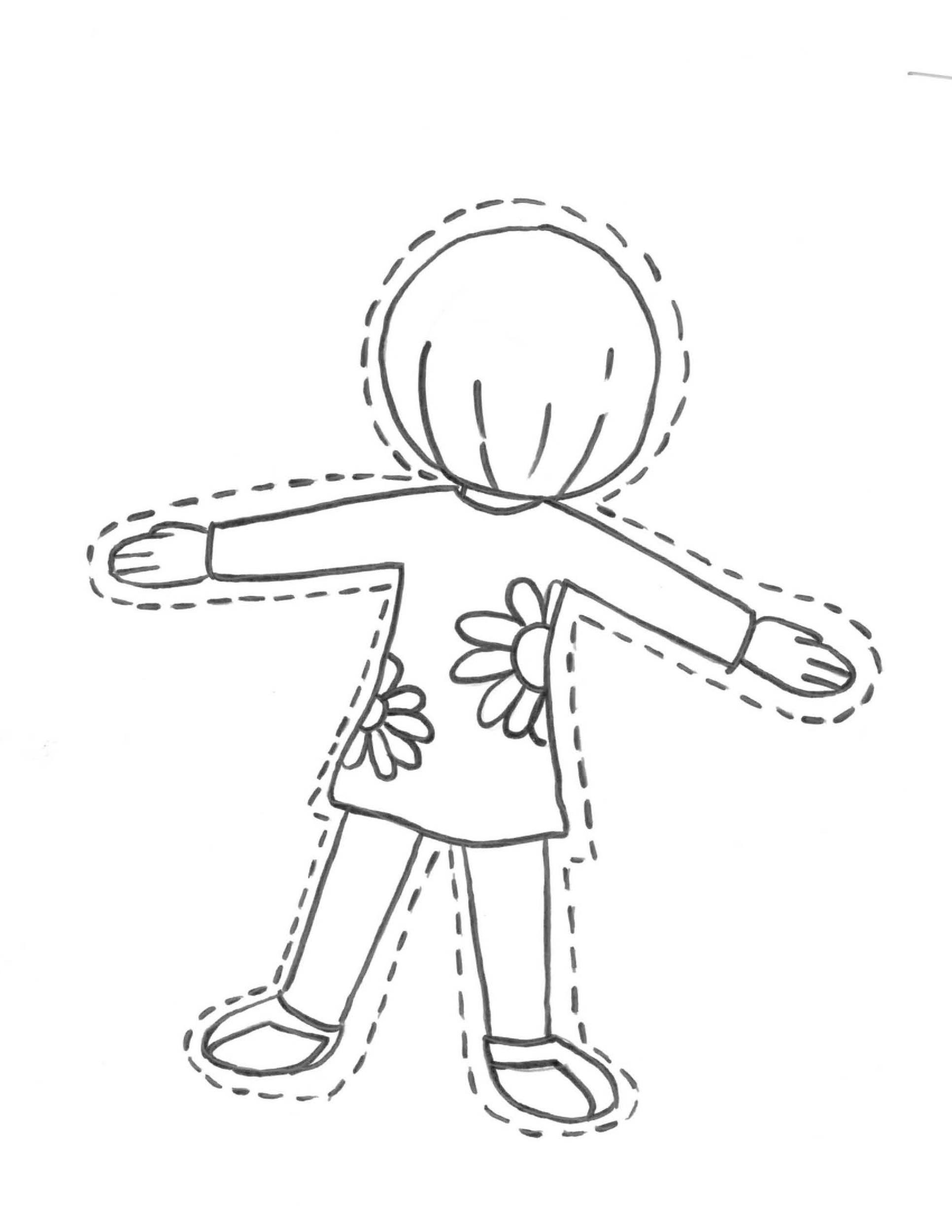 Free Flat Stanley Template 23