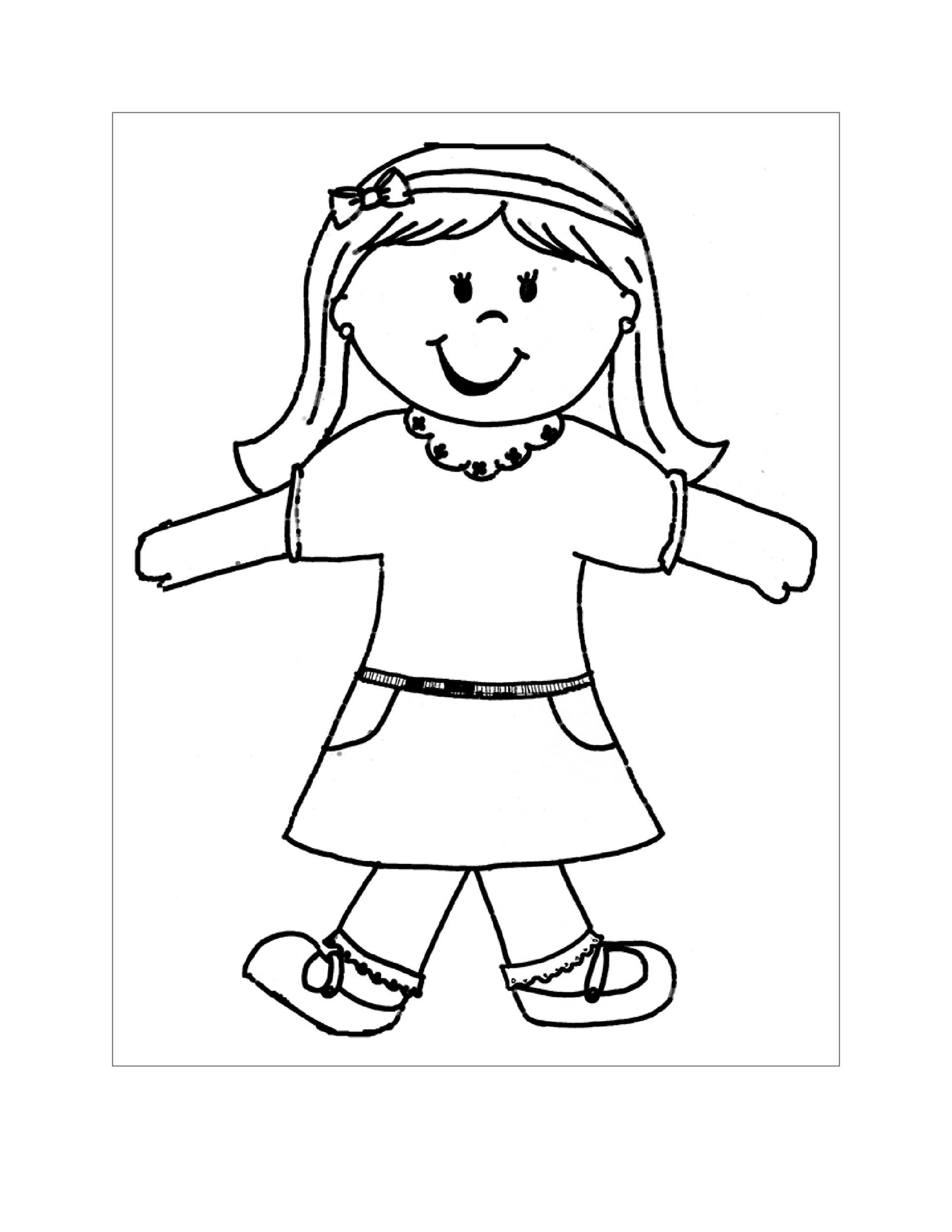 Free Flat Stanley Template 26