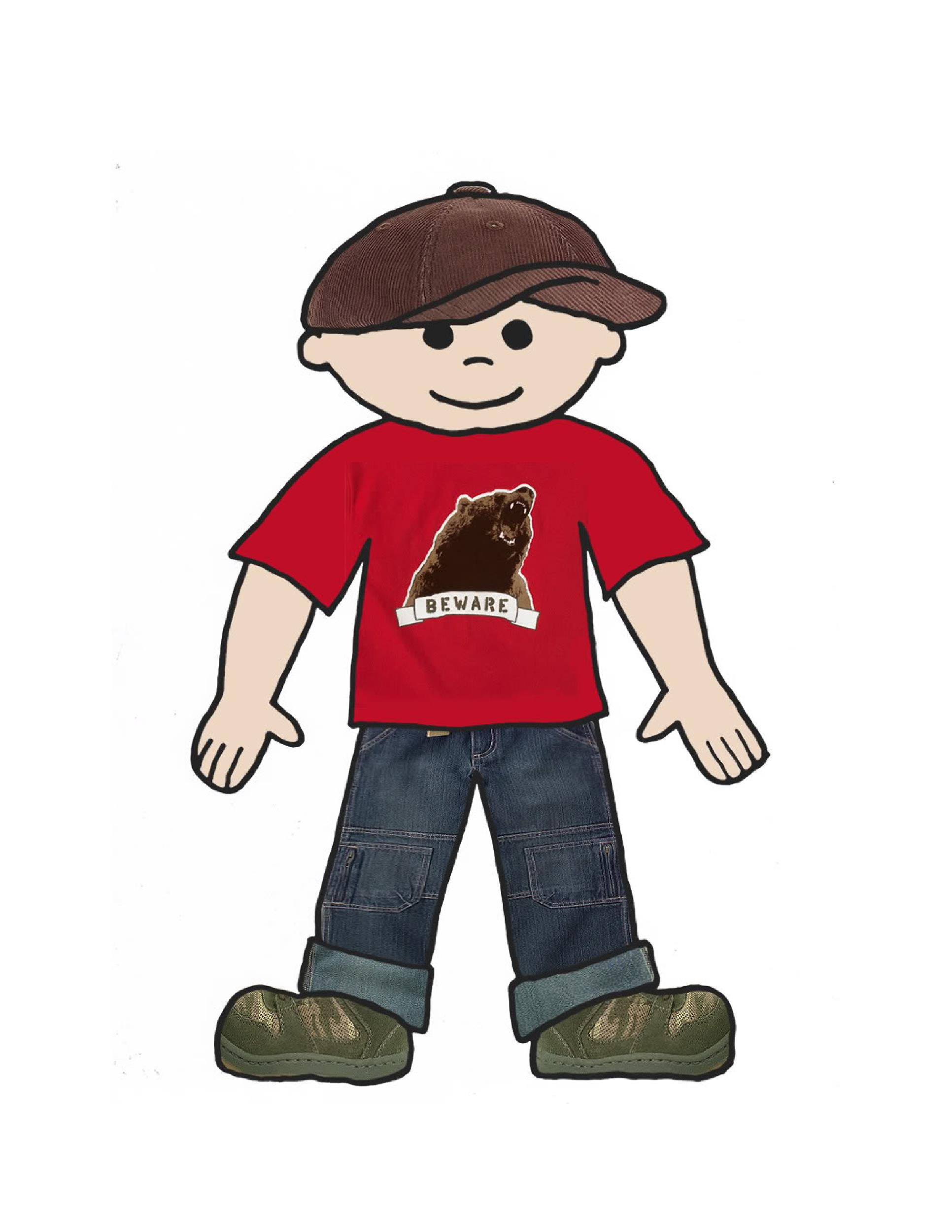 Free Flat Stanley Template 28