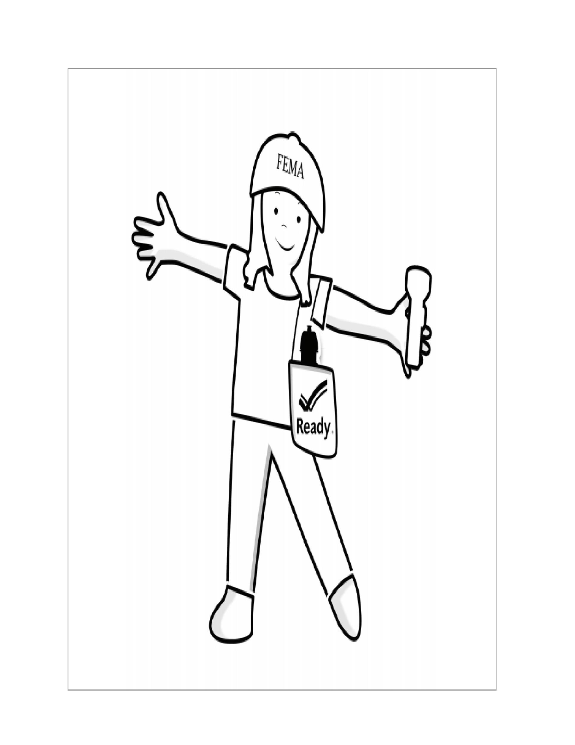 Free Flat Stanley Template 30