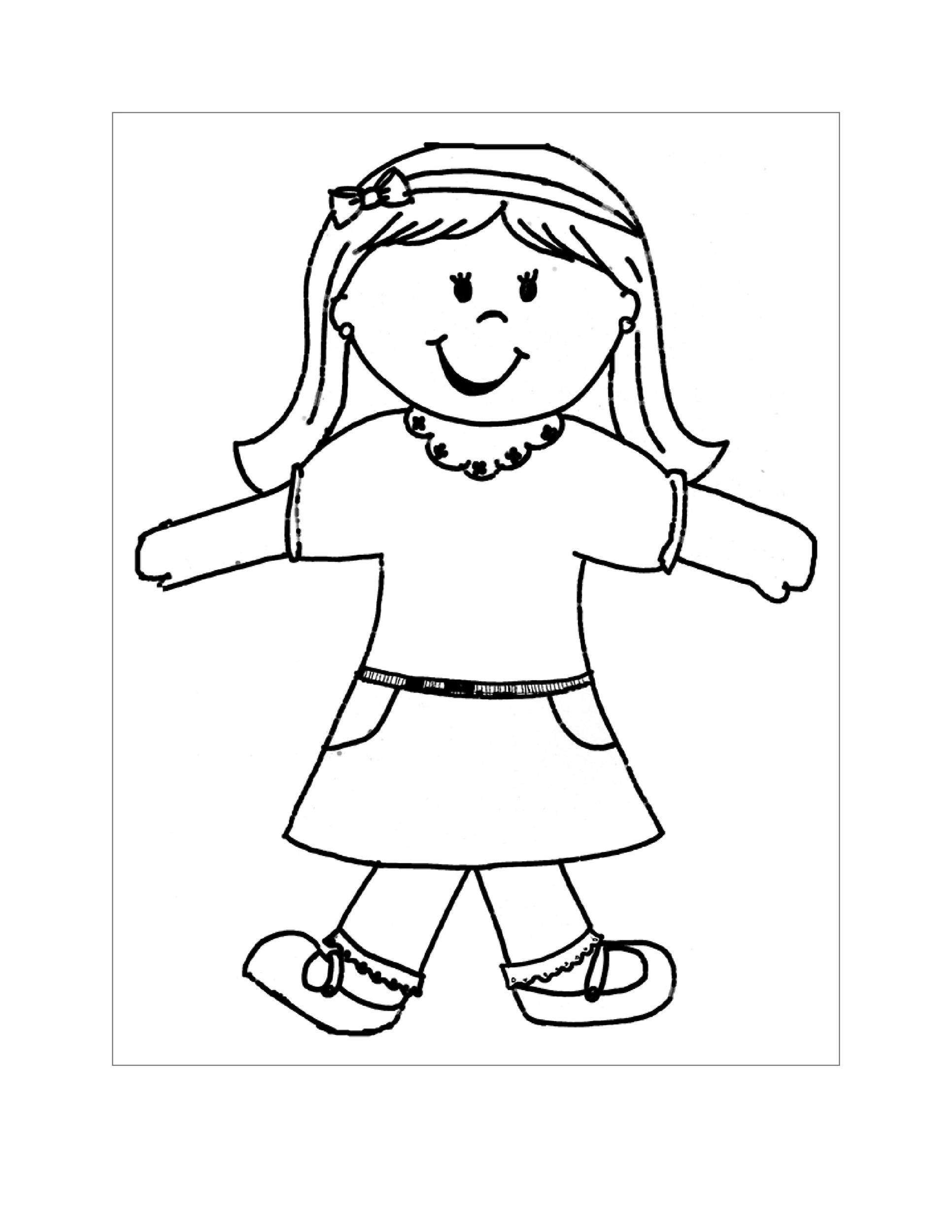 Free Flat Stanley Template 31