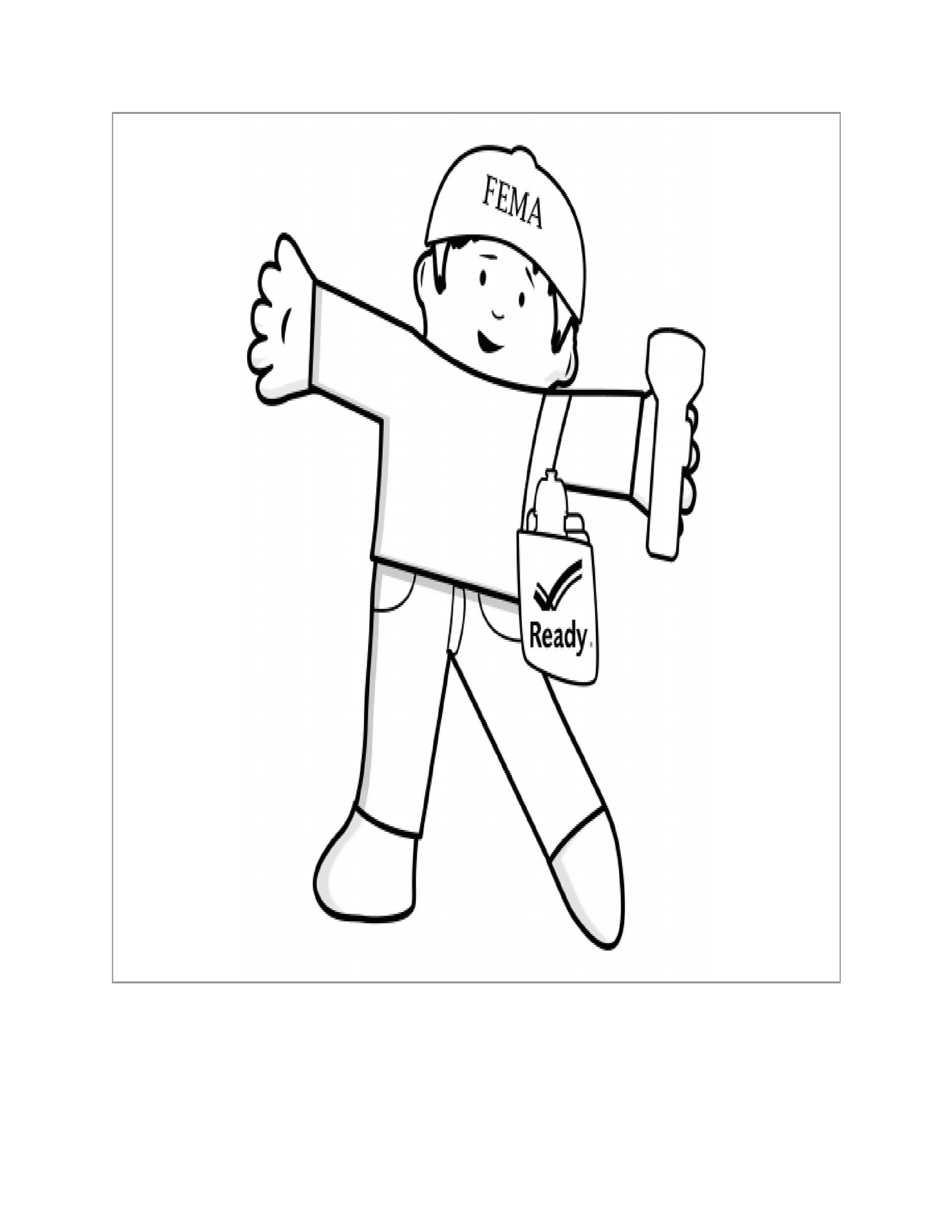 Free Flat Stanley Template 32