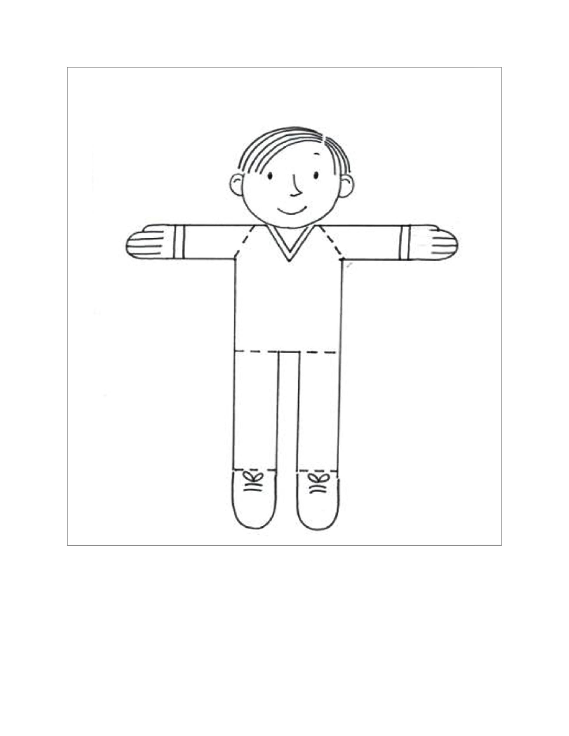 Free Flat Stanley Template 35