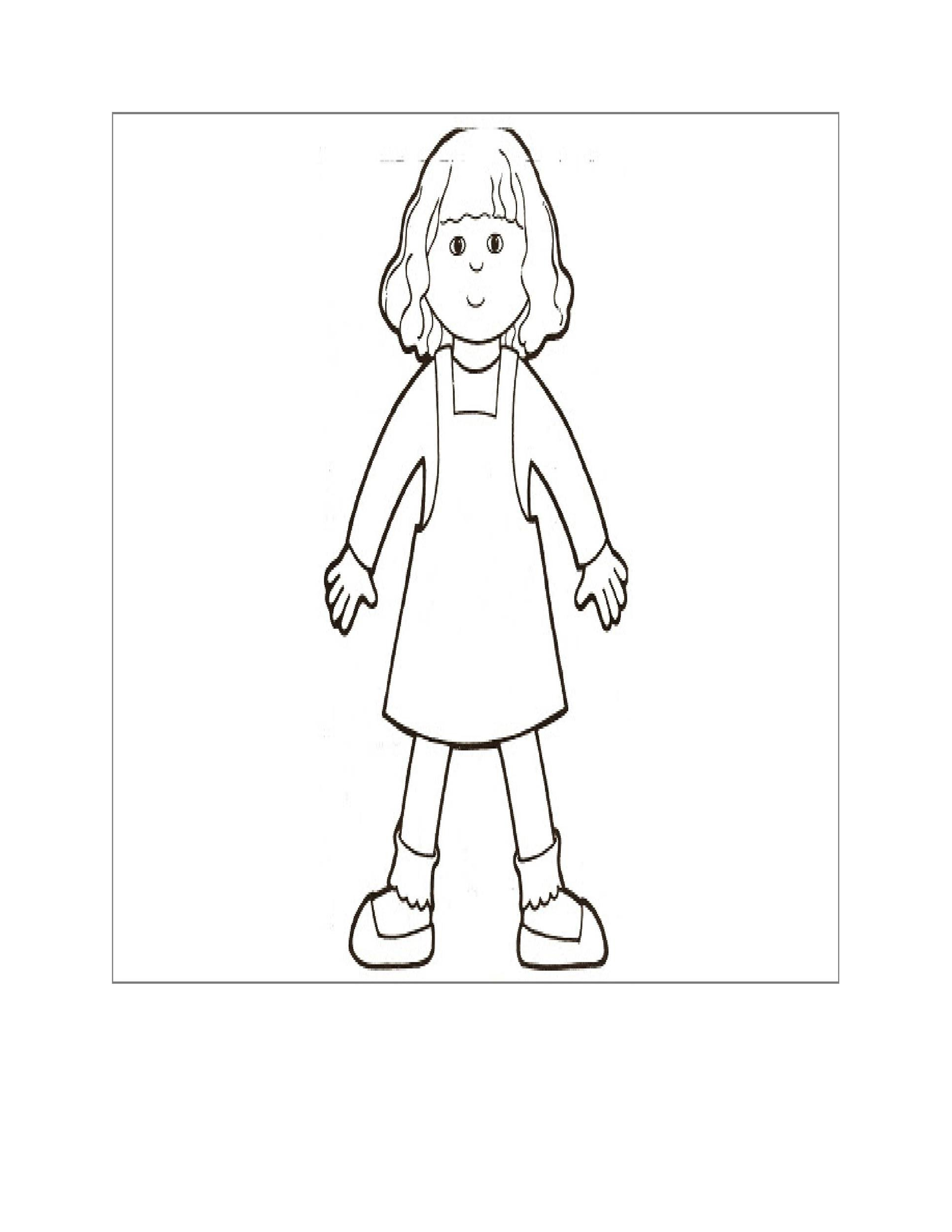 Free Flat Stanley Template 37