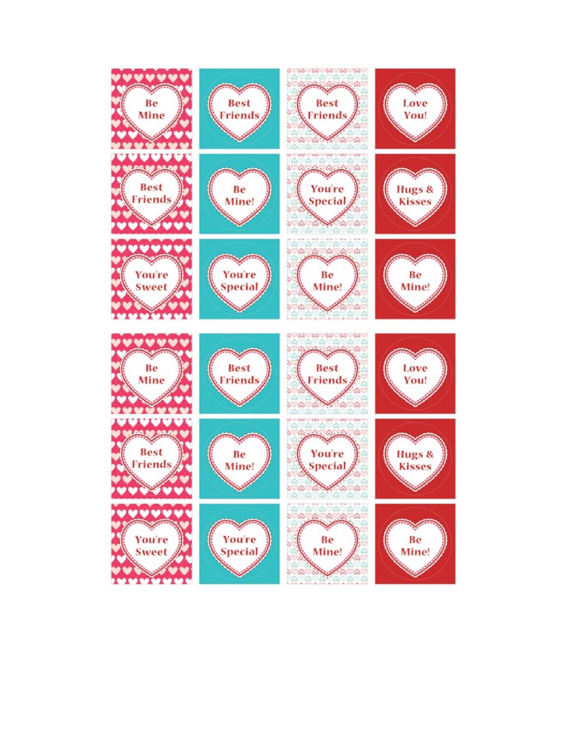 Free Heart Shape Template 03