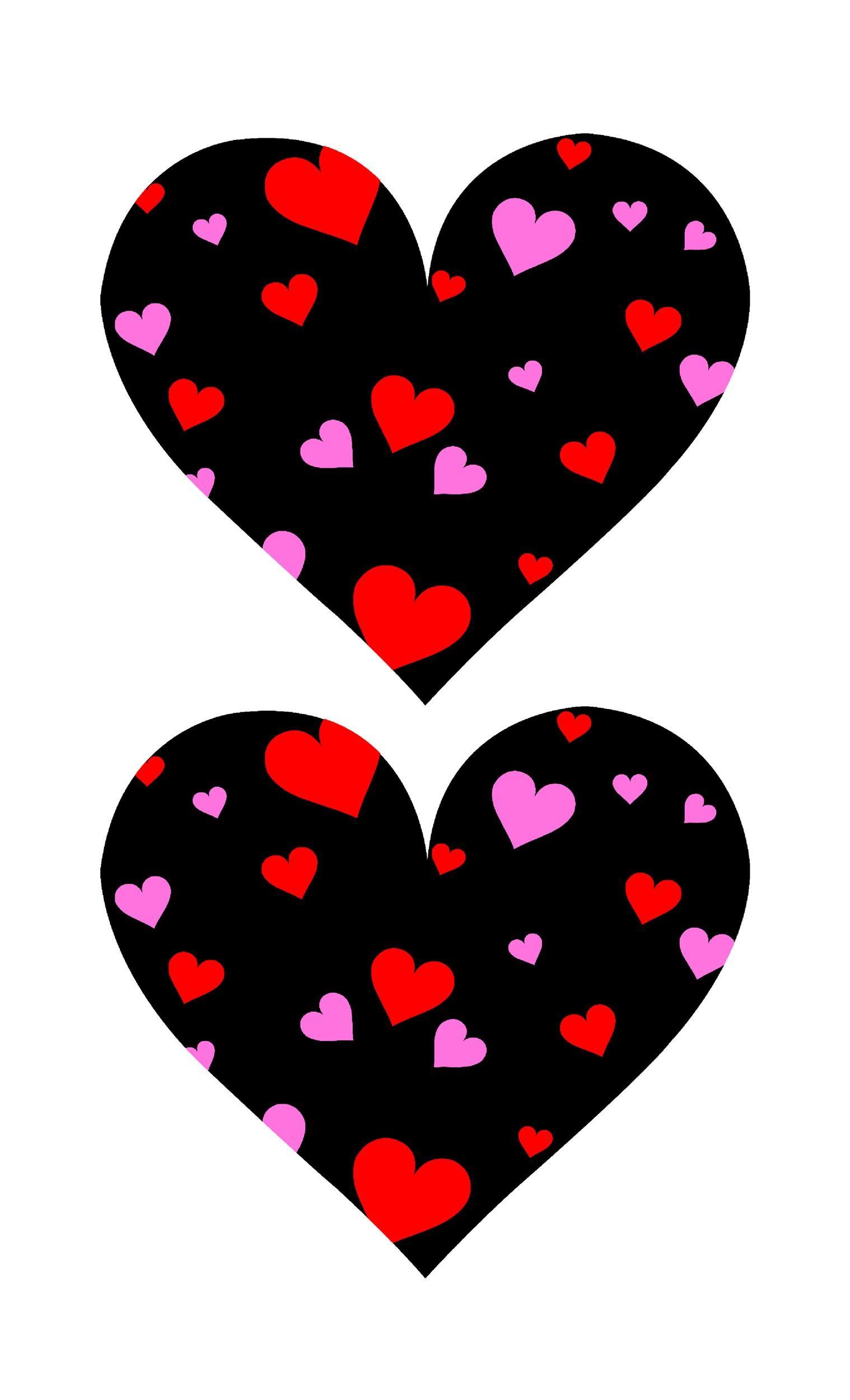 Free Heart Shape Template 11