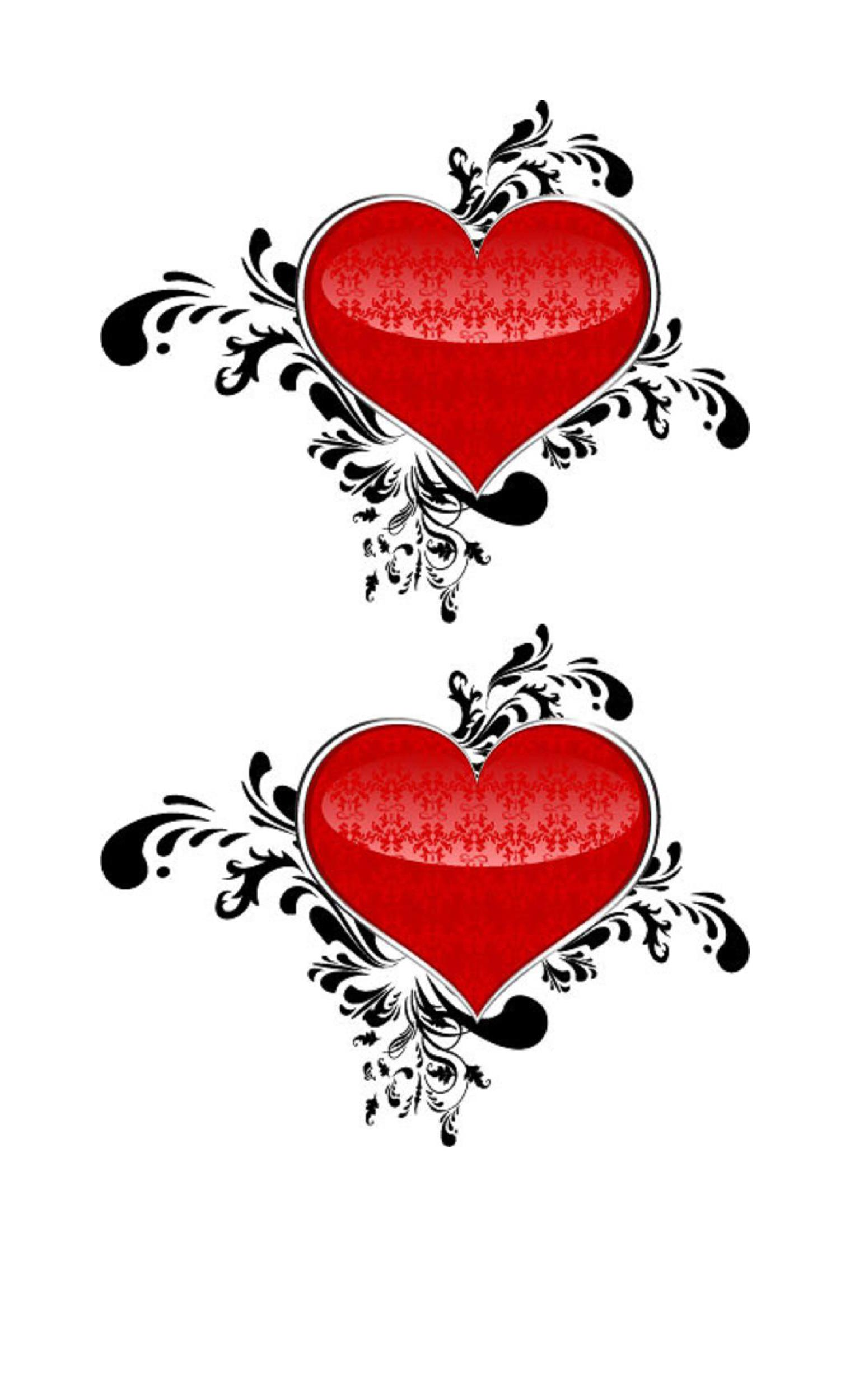 Heart shape Template 14
