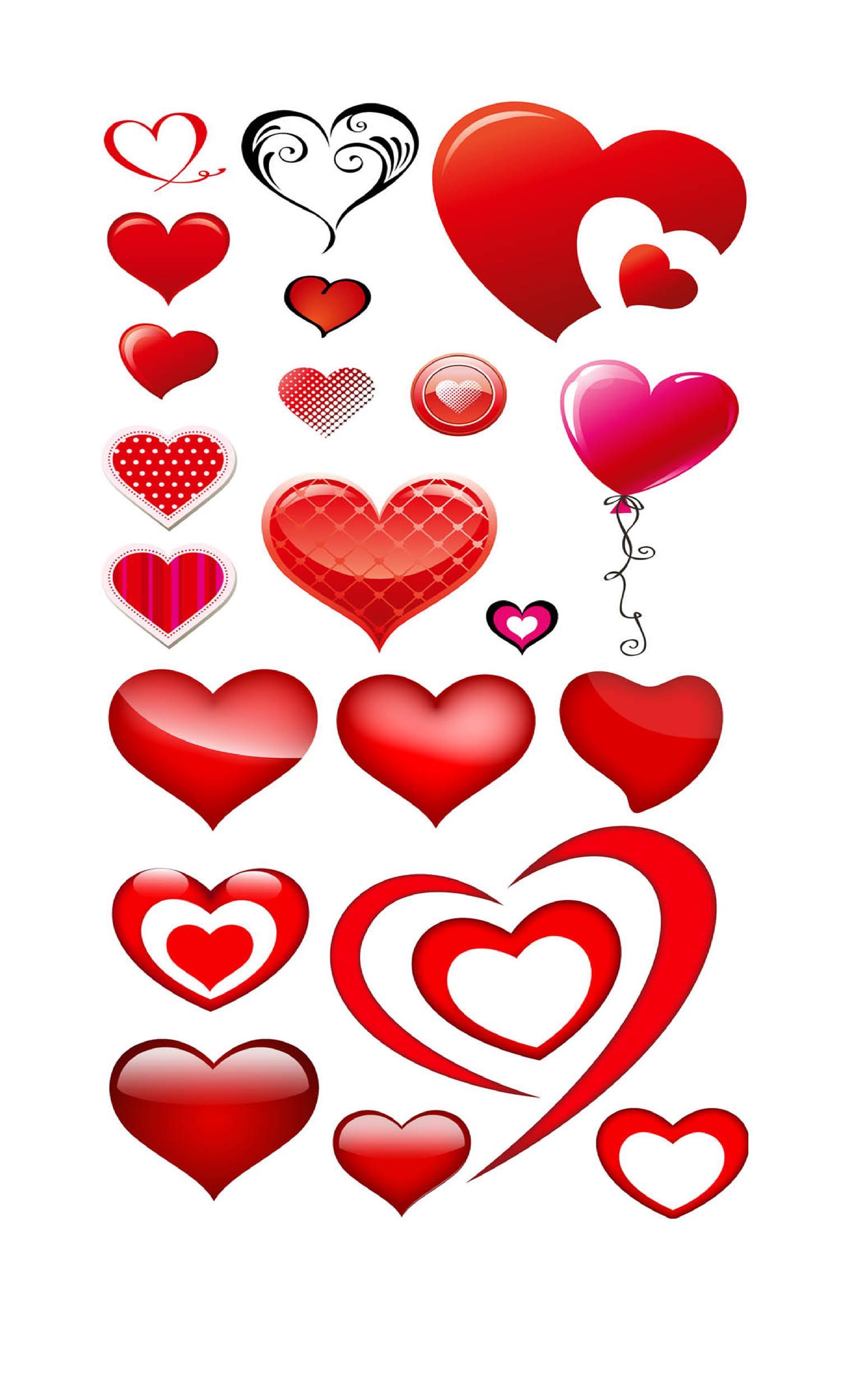 Free Heart Shape Template 39