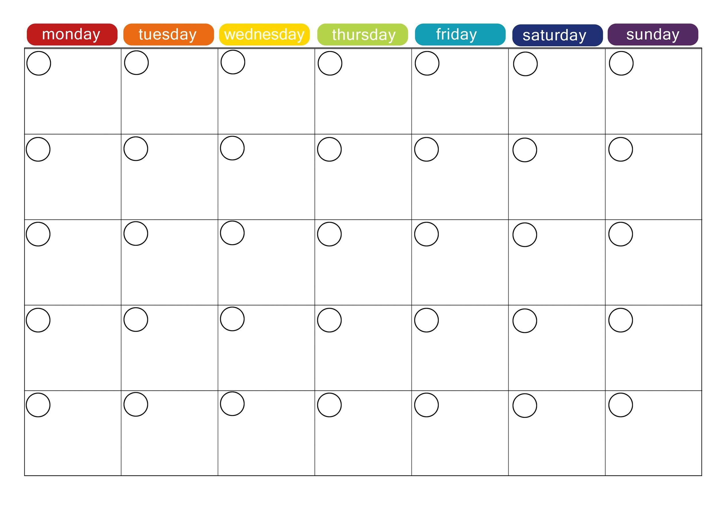 Weekly Meal Planning Templates  Template Lab