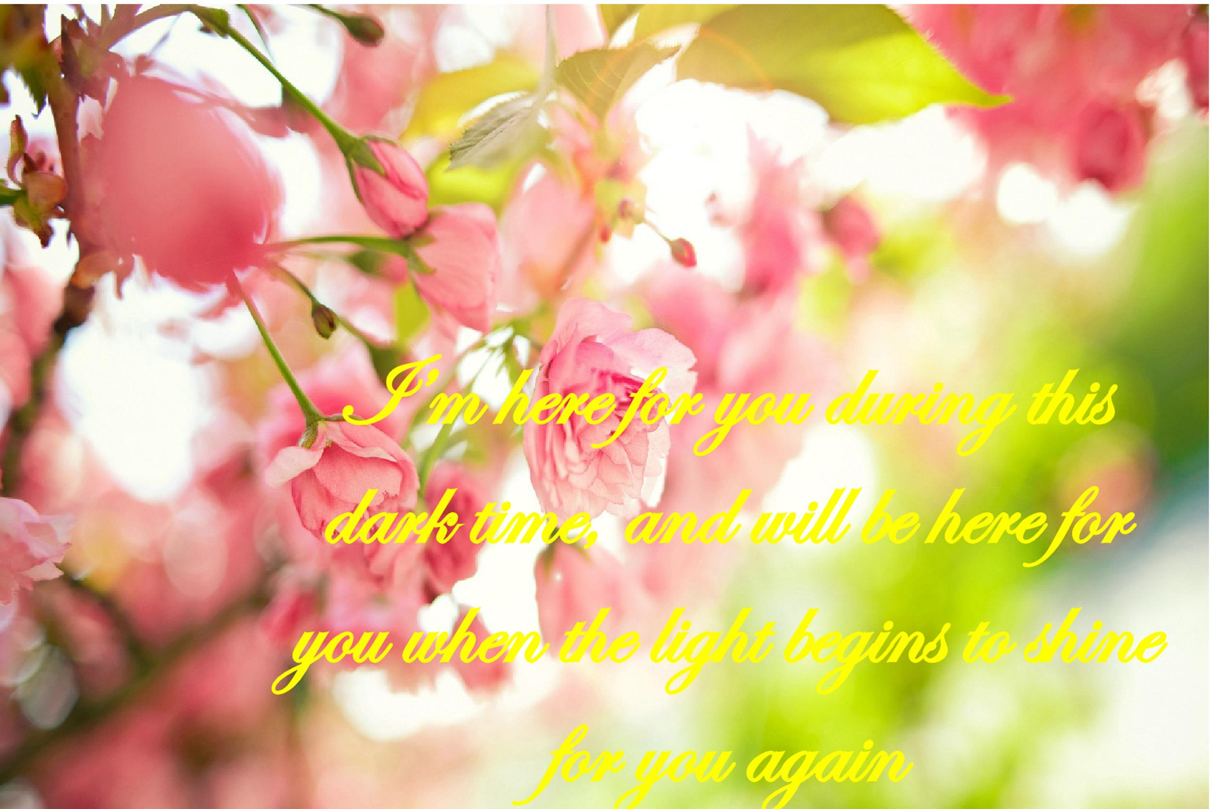 Free Sympathy Message Template 03