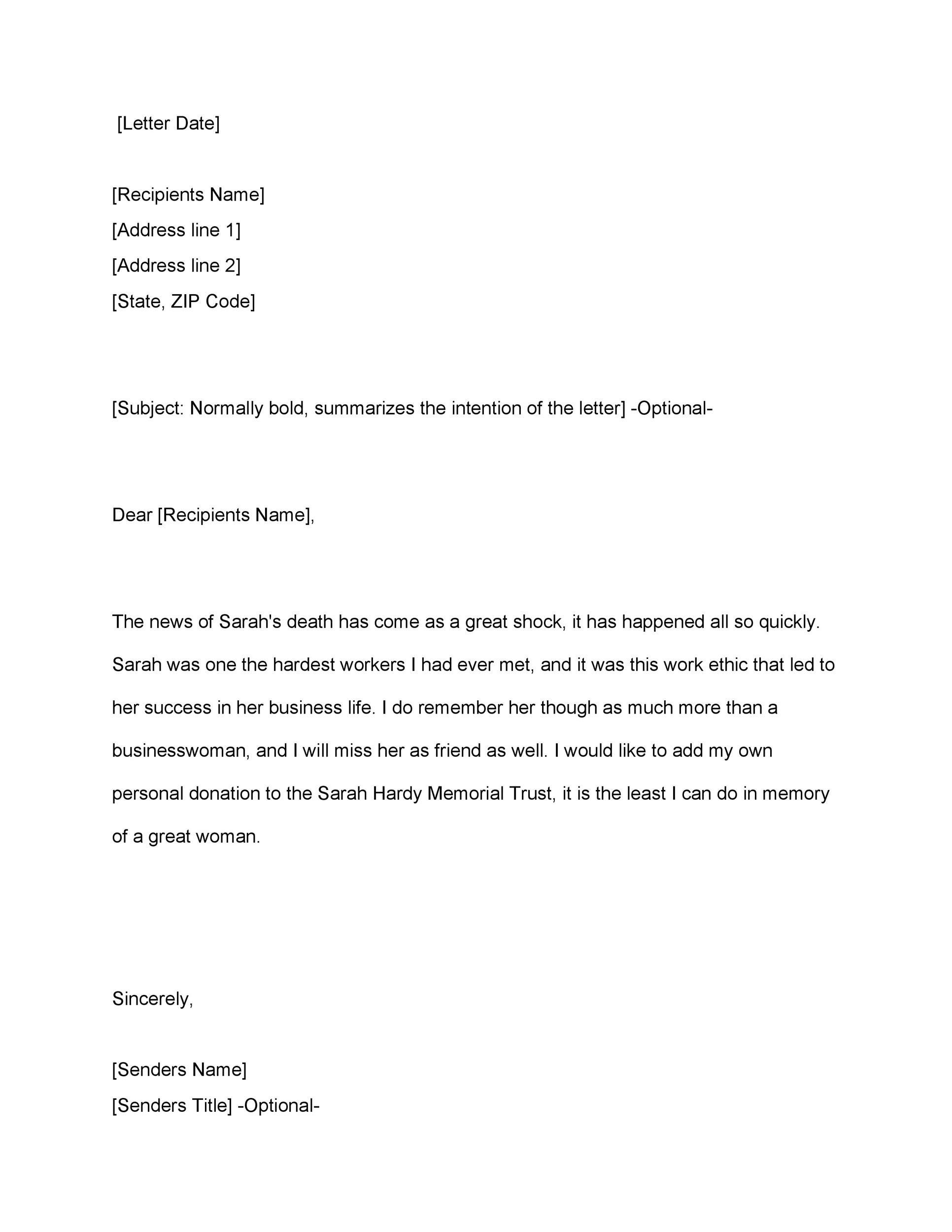 الحوت الأزرق وحش لفة short condolence message to client