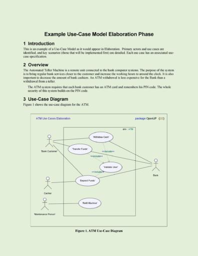 Use Case Templates