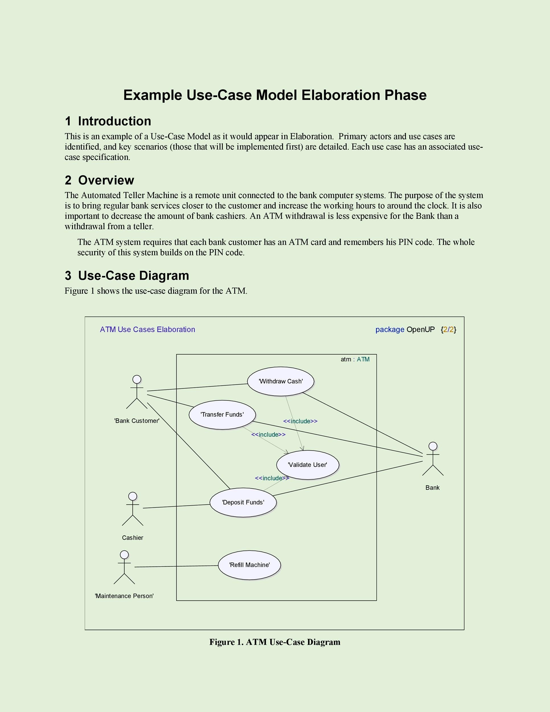 40 Use Case Templates Examples Word Pdf Template Lab