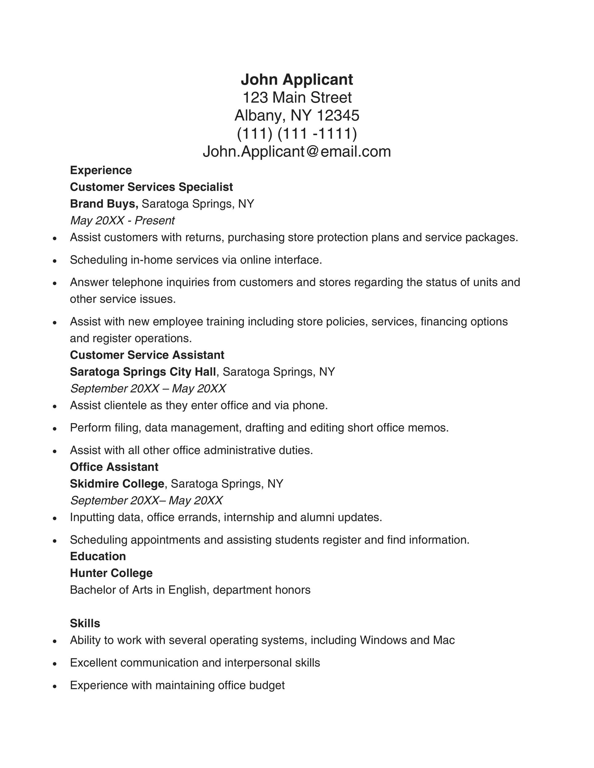 Multiple Intelligences SelfAssessment  Edutopia Window Resume