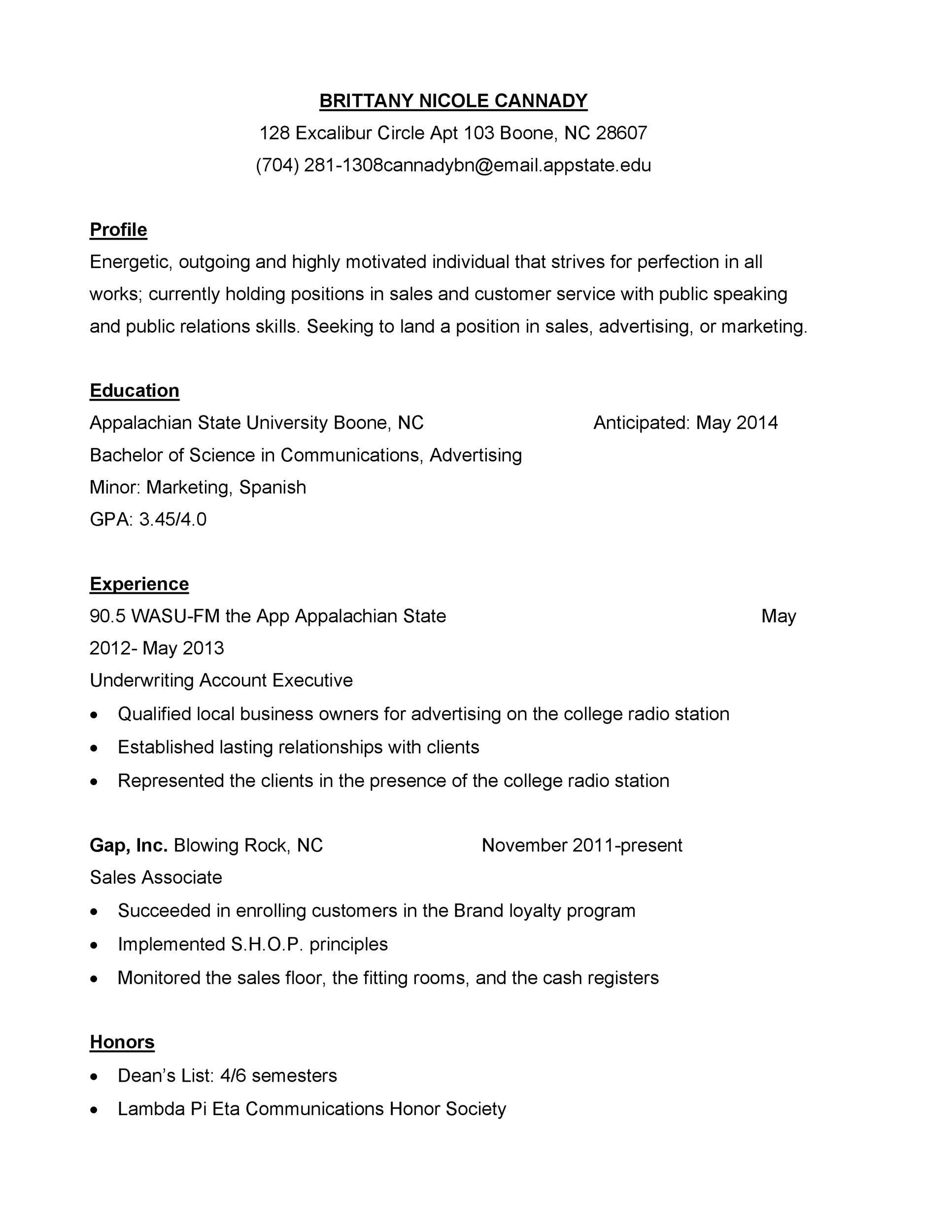 Printable Customer Service Resume Template 20