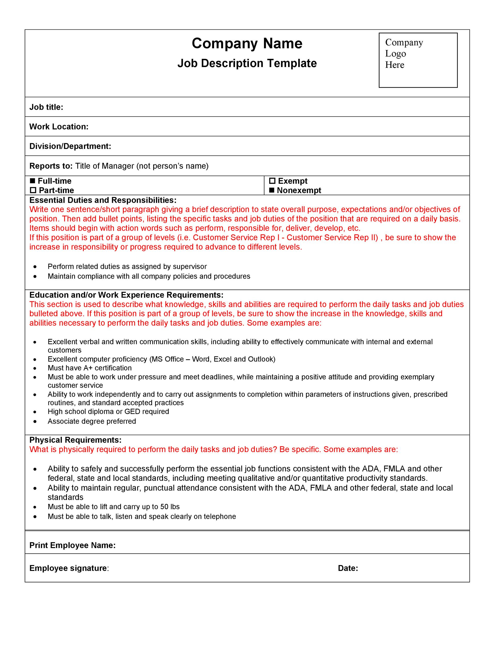 training contract download pdf
