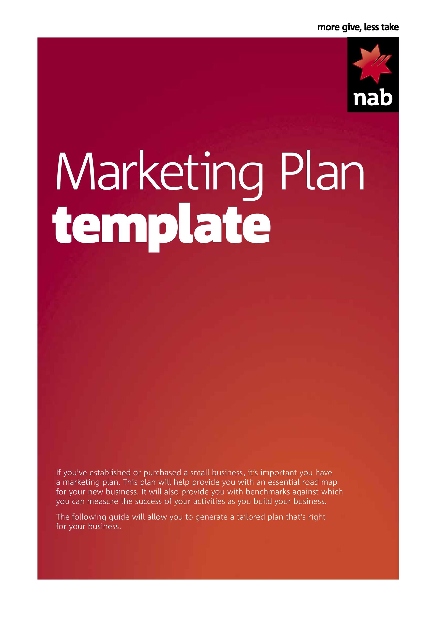 Free Marketing Plan Template 29